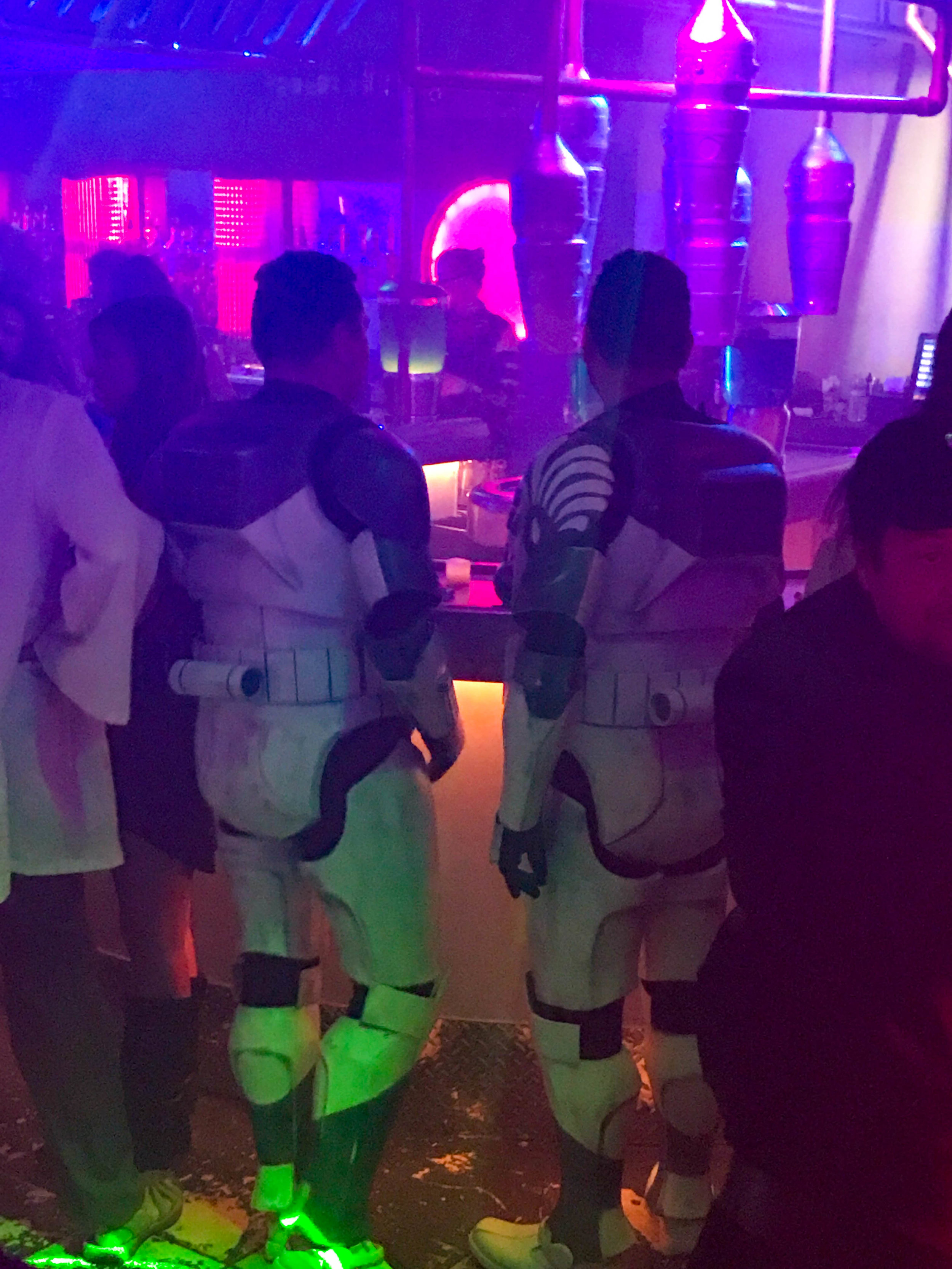 Scum and Villainy Cantina Costumes