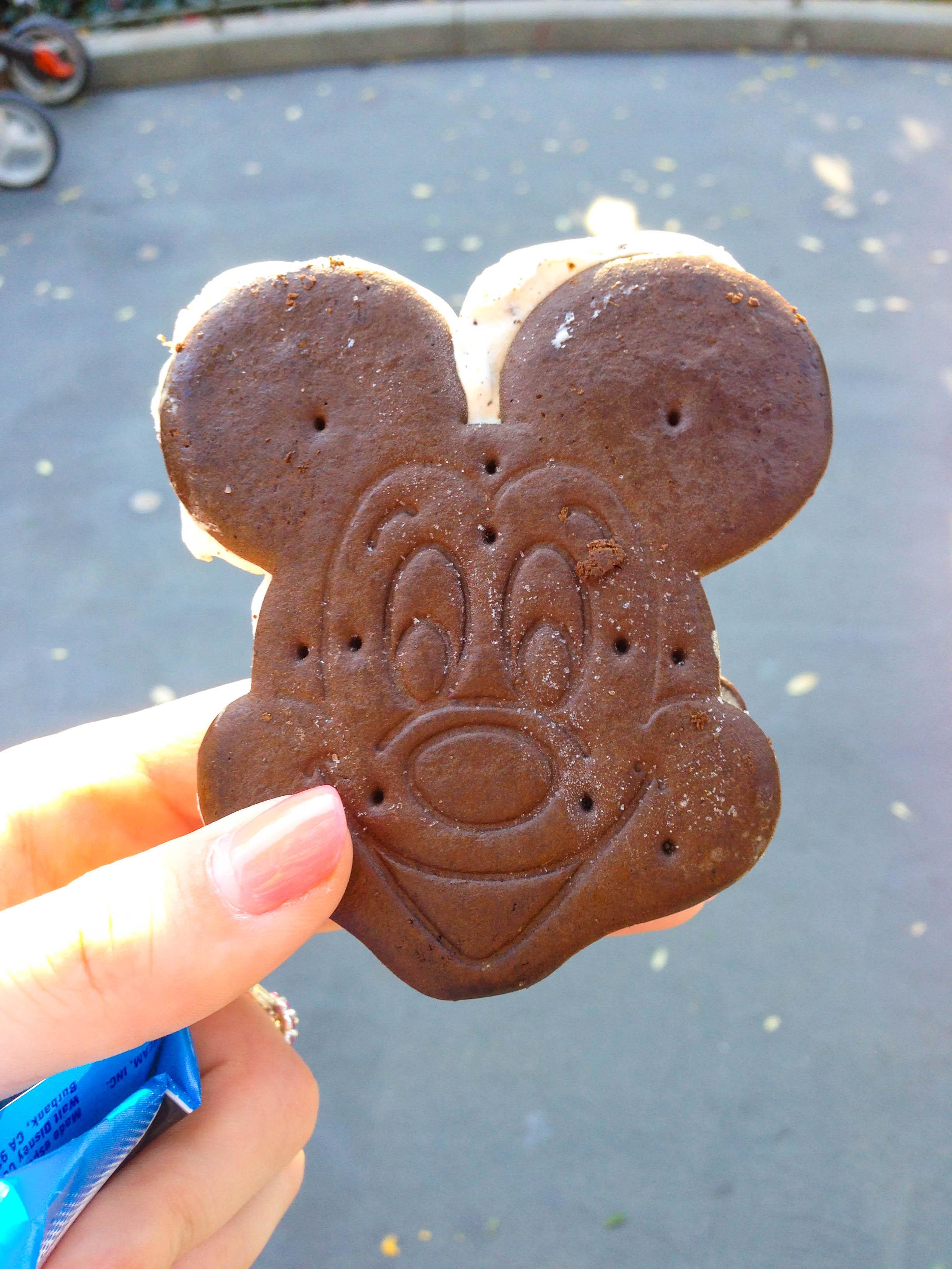 Mickey Ice Cream Sandwich Disneyland
