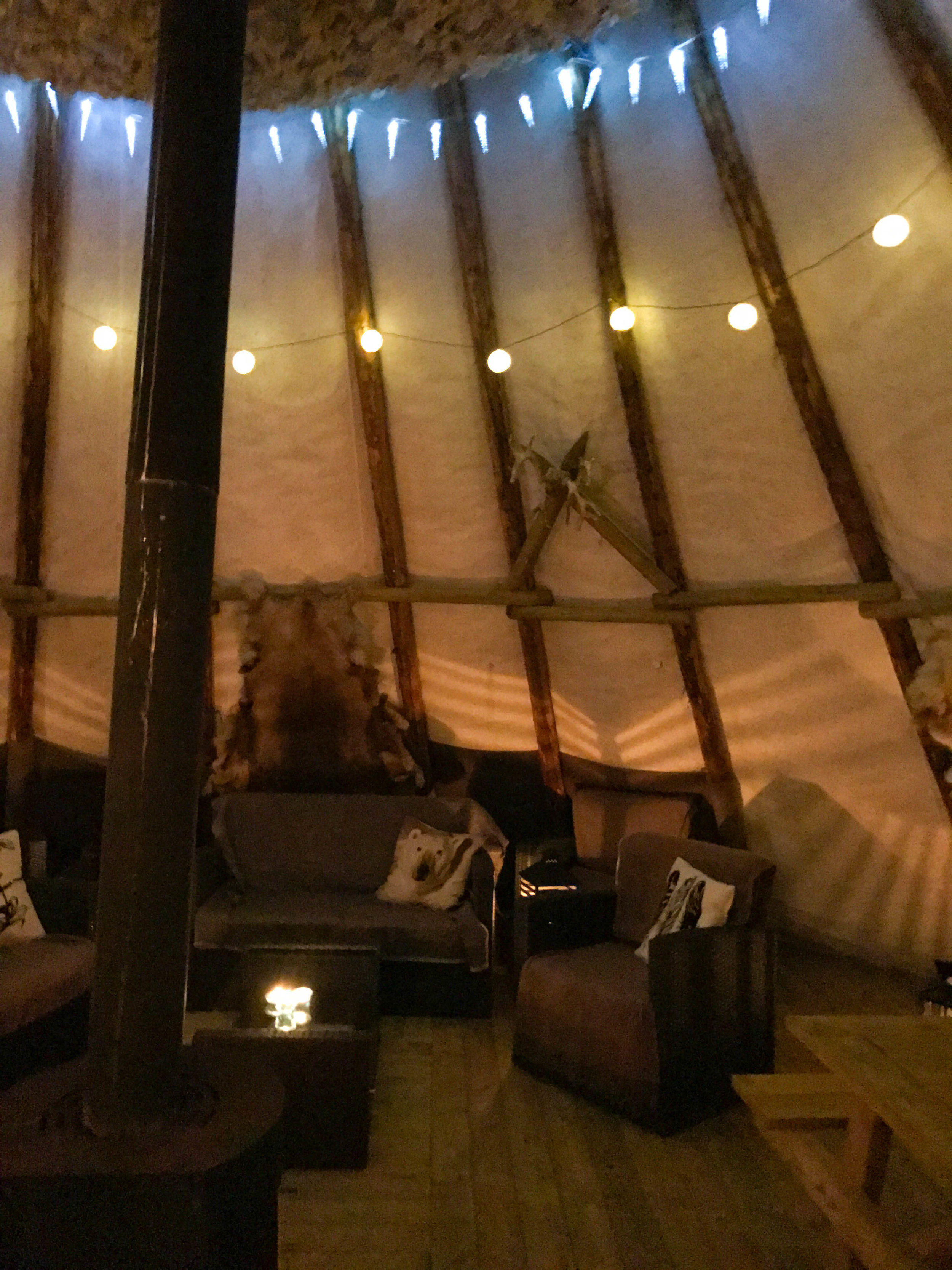 Norway Lavvu Teepee best place to stay hotel