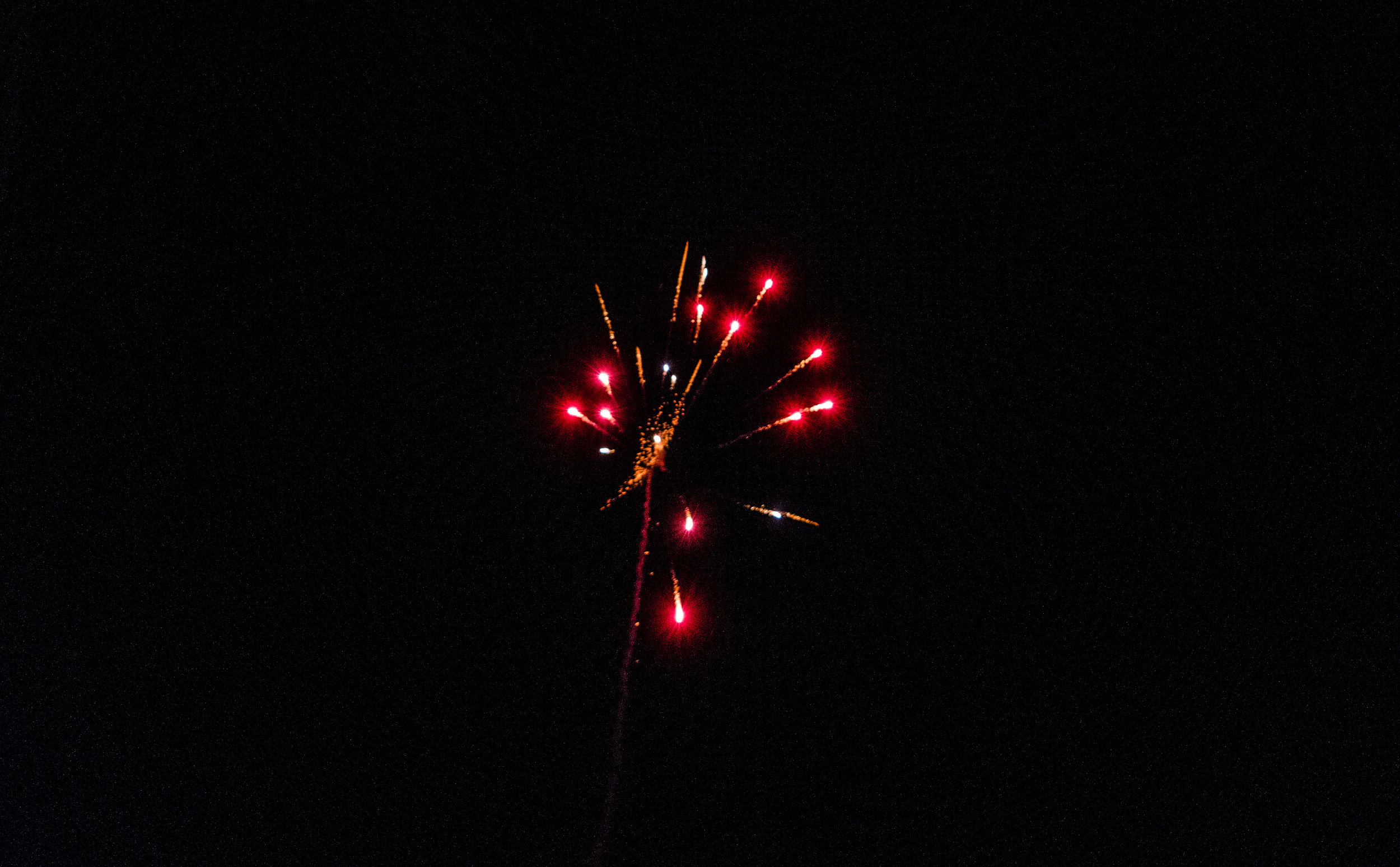 Fireworks in Norway New Years