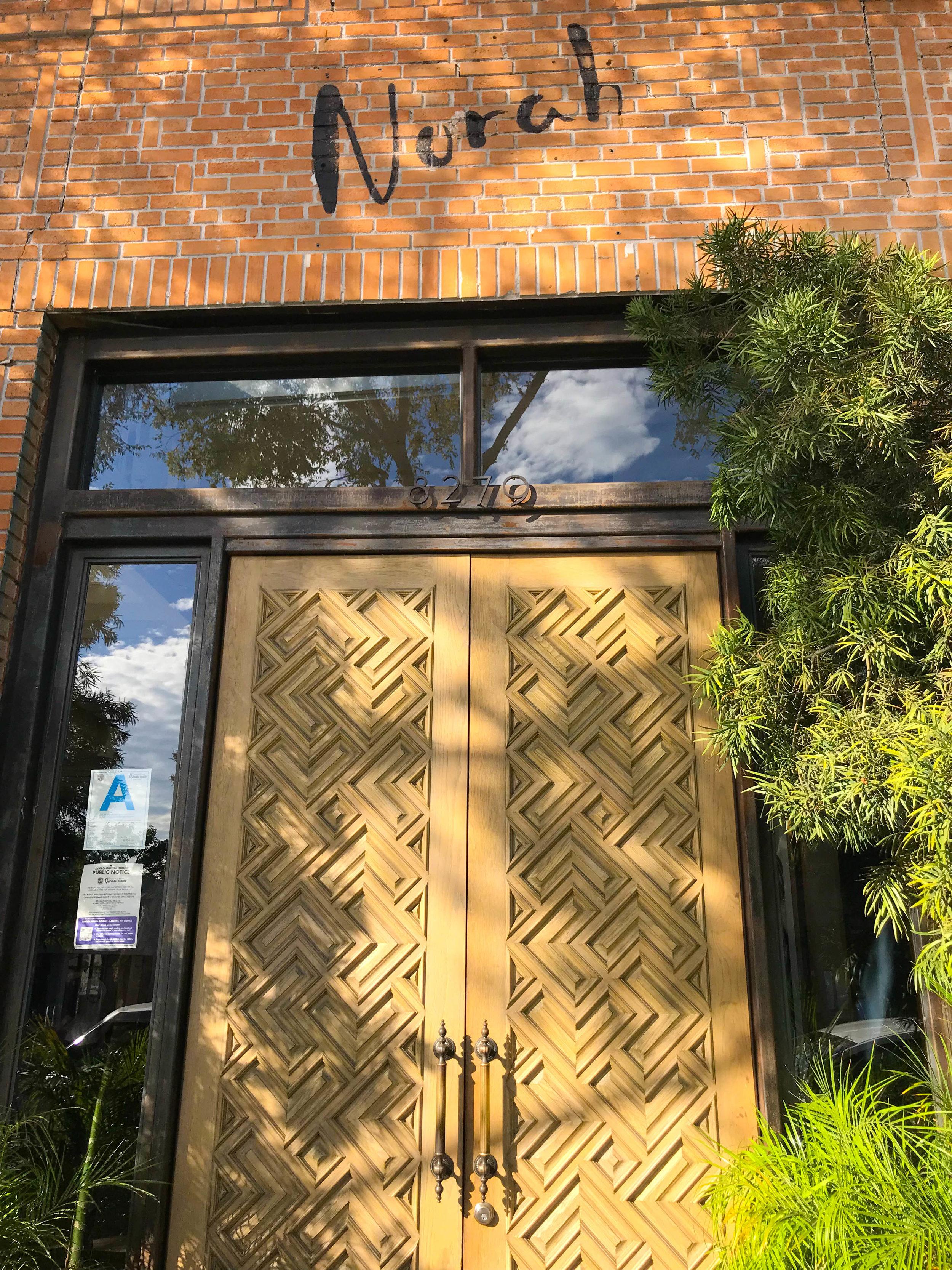 Norah Entrance for Brunch West Hollywood