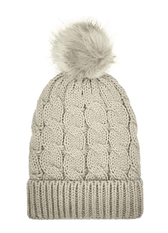Women's Winter Beanie Warm Fleece Lining - Available in multiple colors on AMAZON