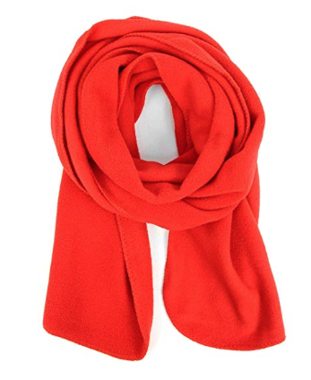 Fleece Unisex Winter Scarf - Warm, cozy and lightweight! Available in other colors on AMAZON