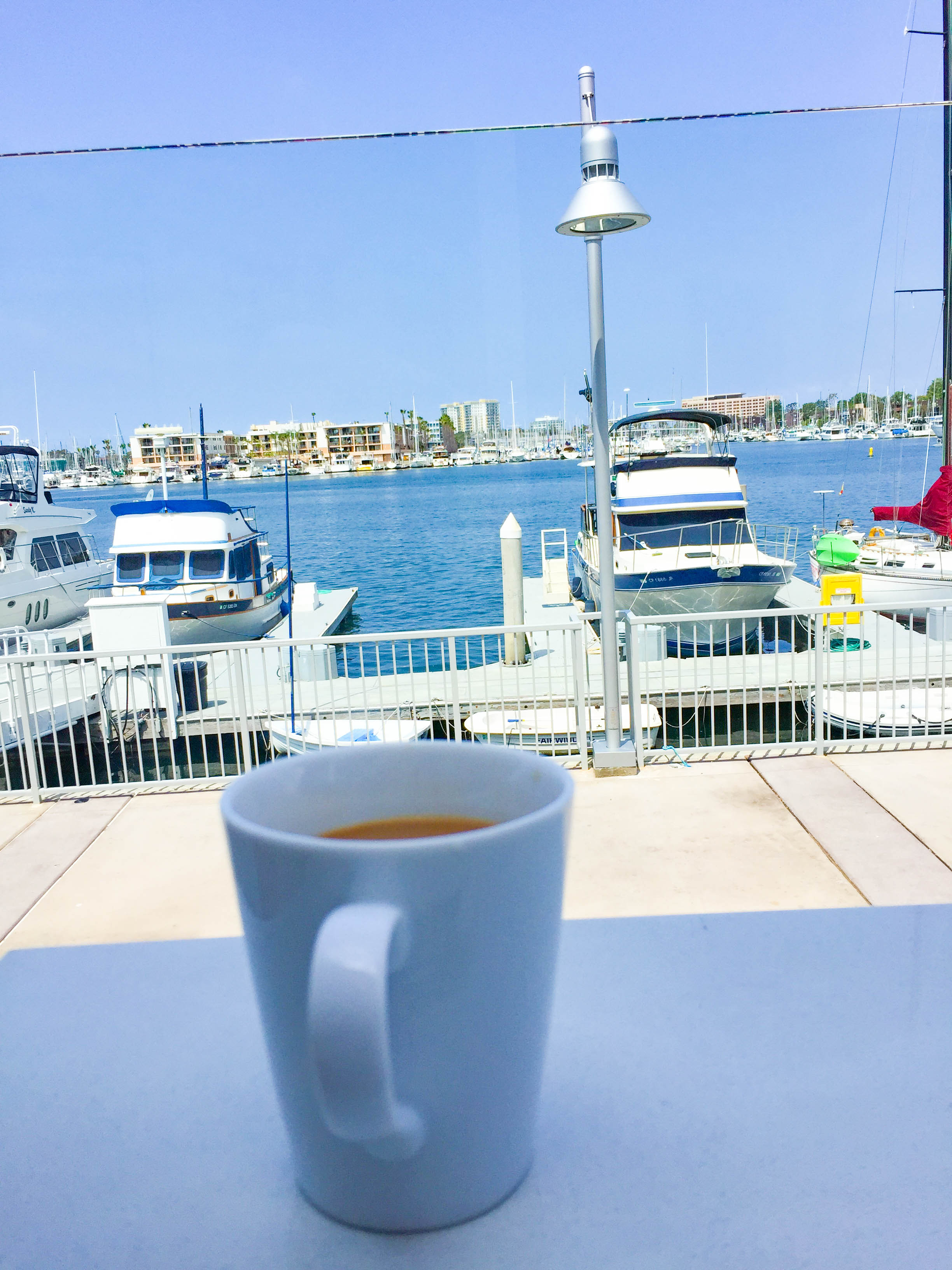 Salt brunch spot Marina Del Rey
