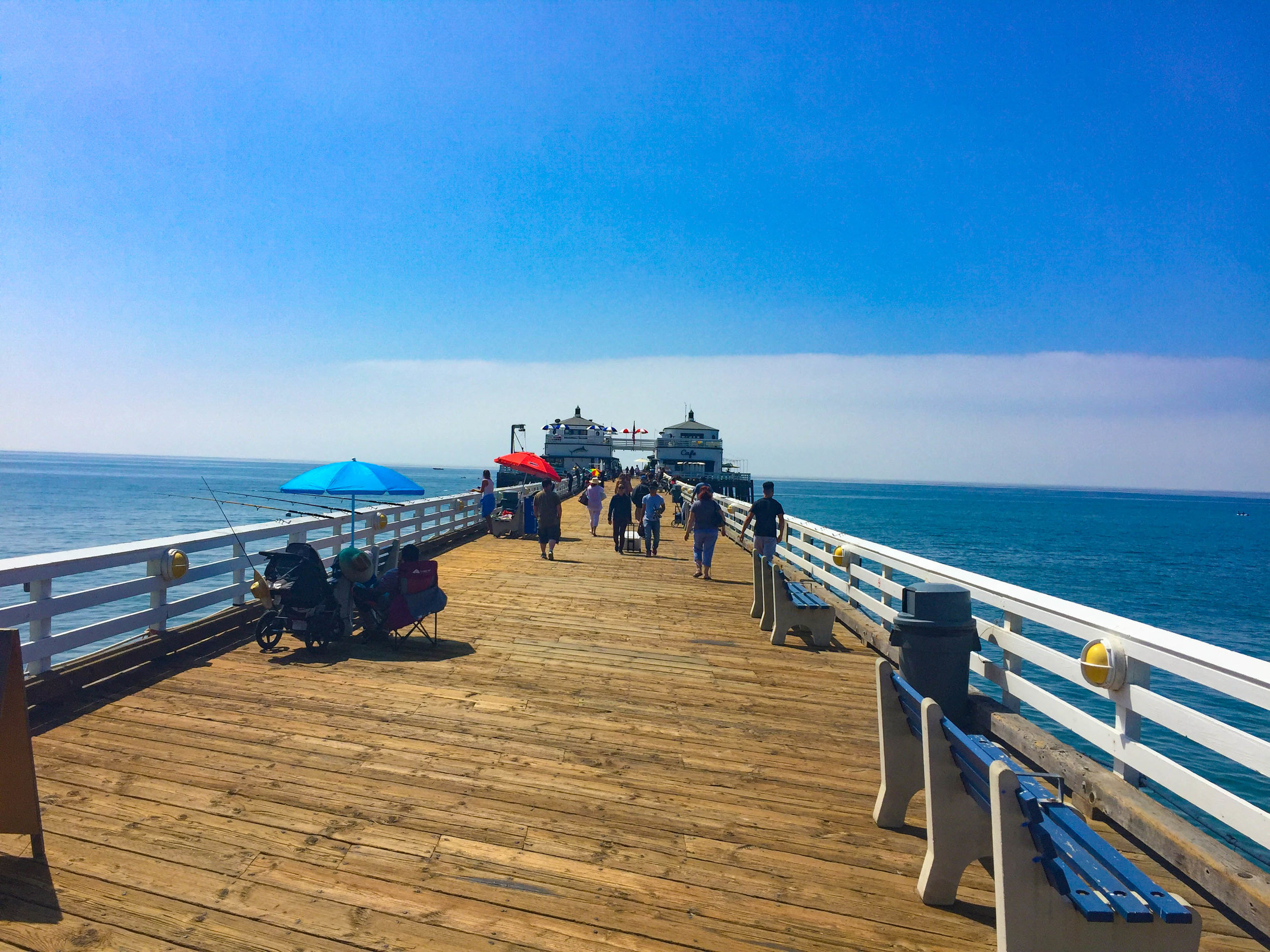 Malibu Farm Brunch Spot on the pier in Los Angeles