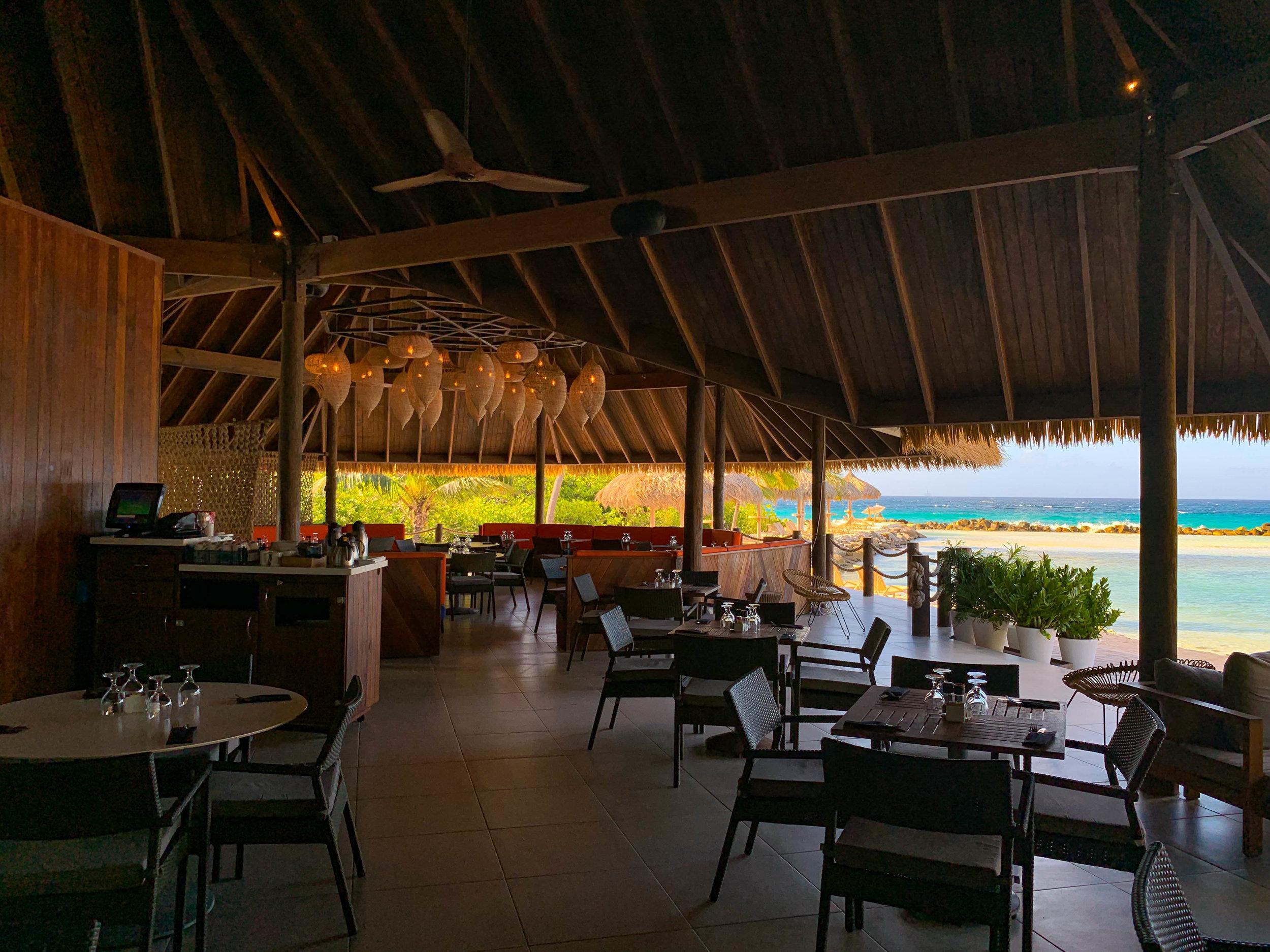 Iguana Beach Renaissance Island Restaurant