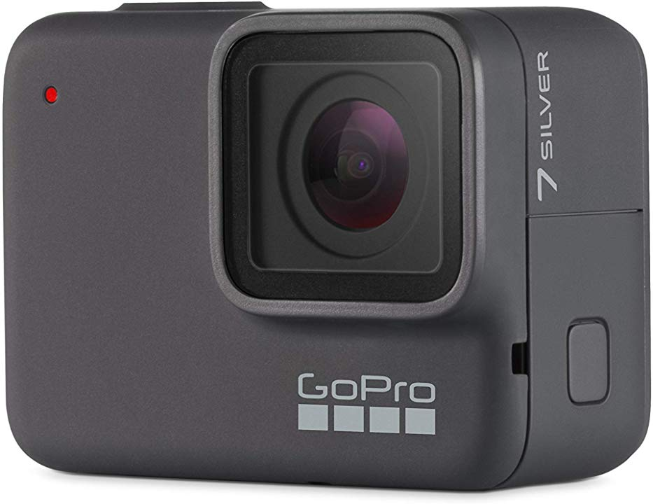 GoPro HERO7 Silver — Waterproof Digital Action Camera with Touch Screen 4K HD Video 10MP Photos - On AMAZON.com