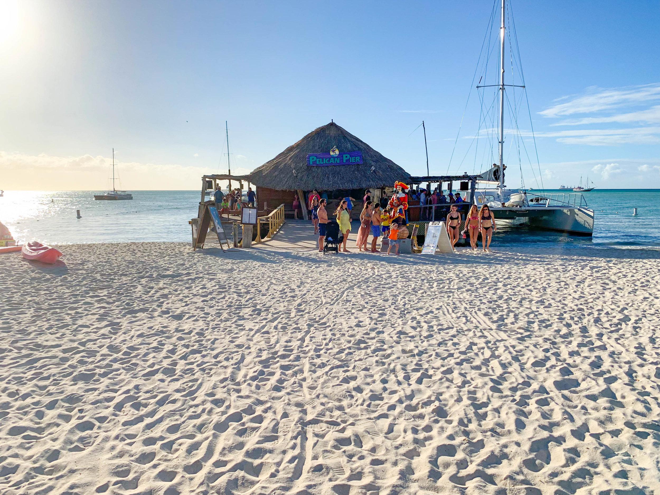 Pelican Pier in Aruba