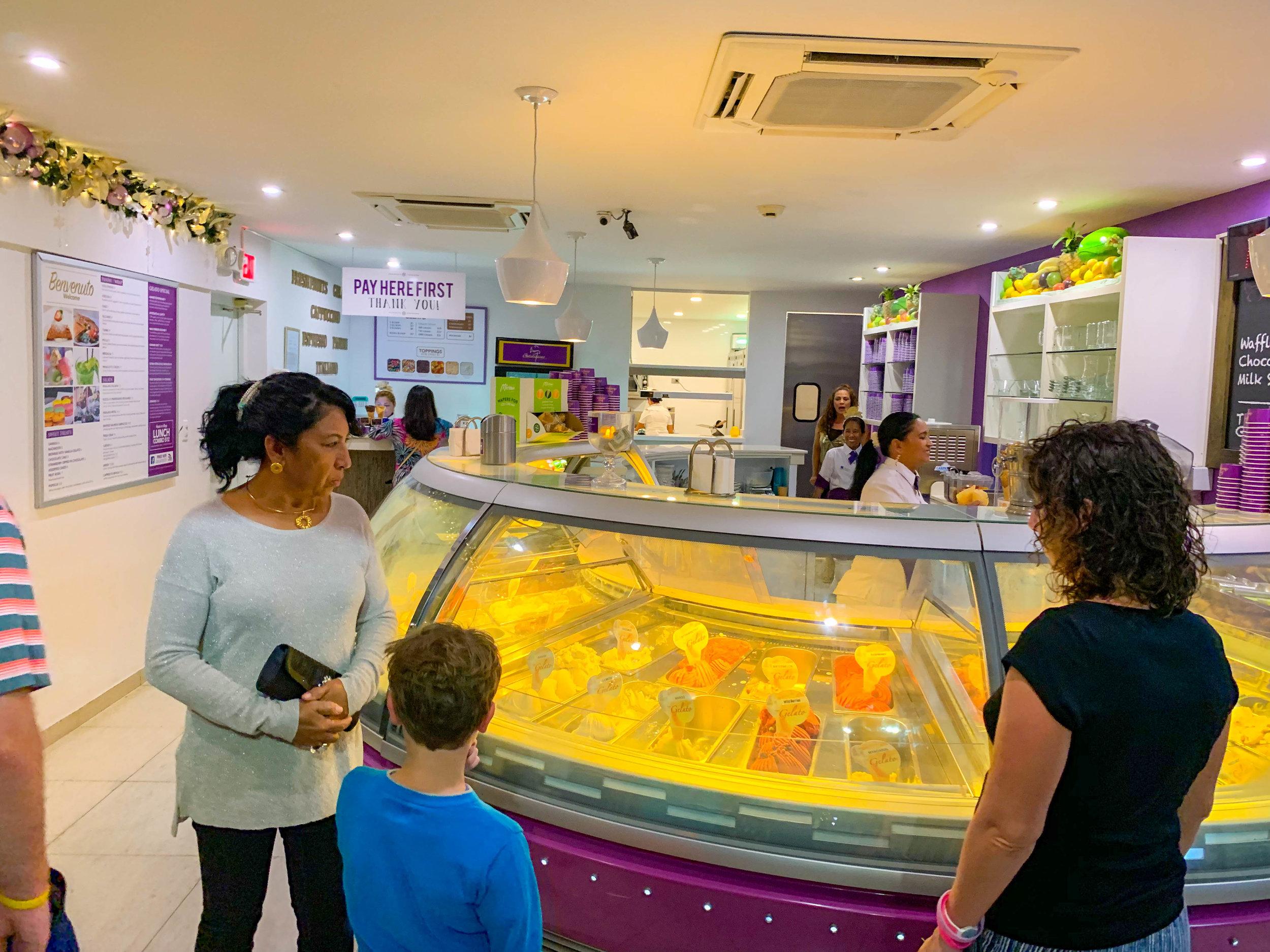 Gelatissimo Aruba Ice Cream - Gelato