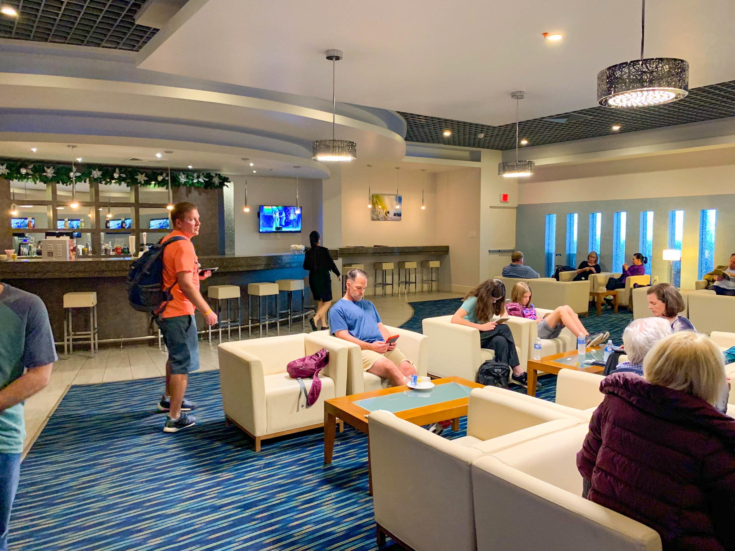 Aruba Airport VIP Lounge