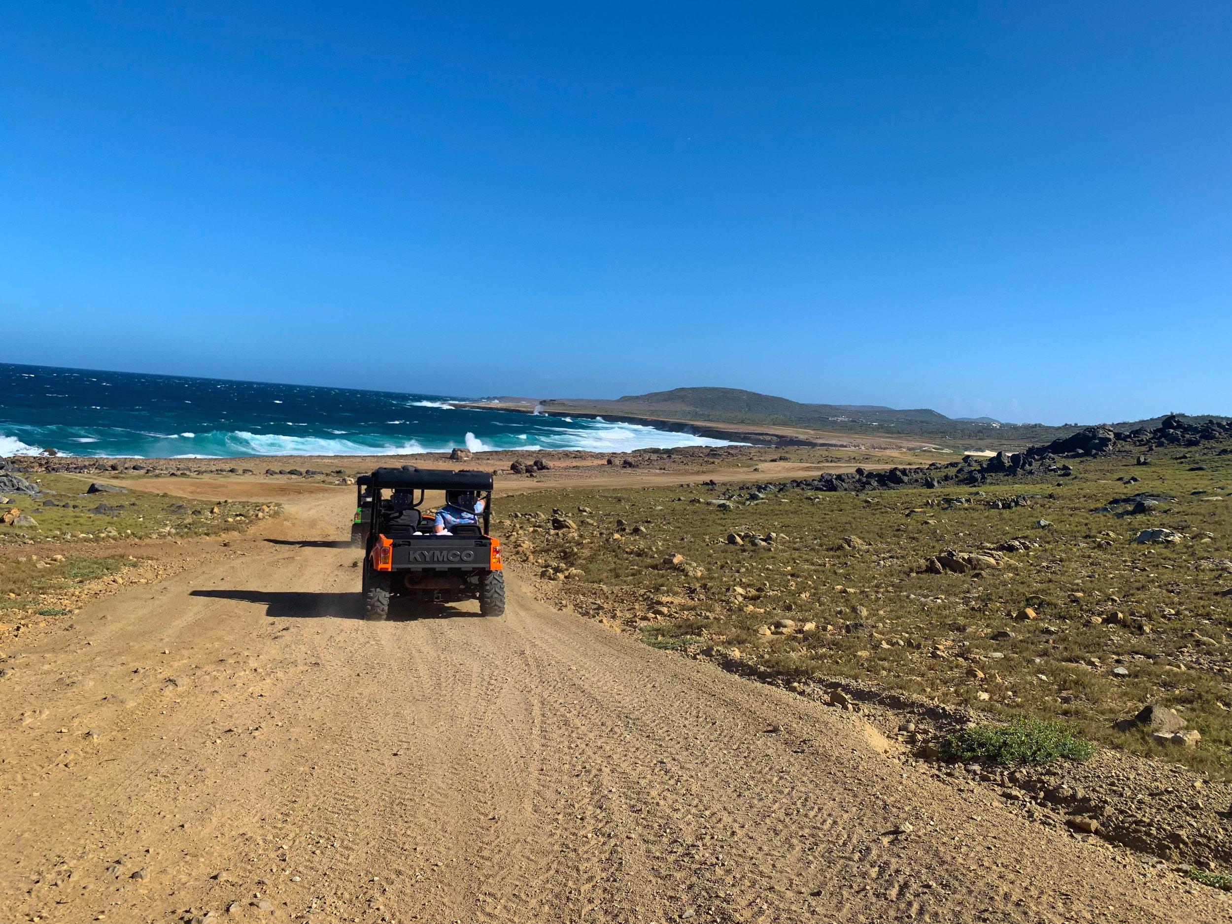 UTV Around Aruba Tour