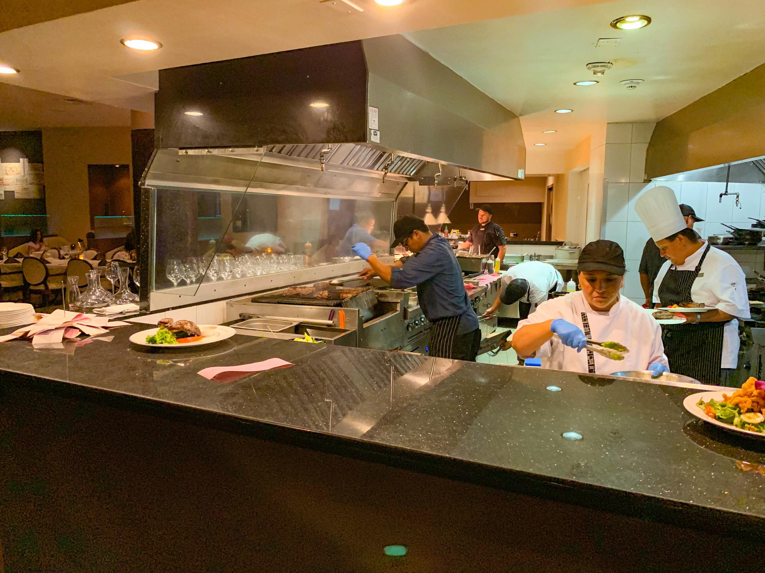 Sunset Grille Hilton Aruba - Kitchen