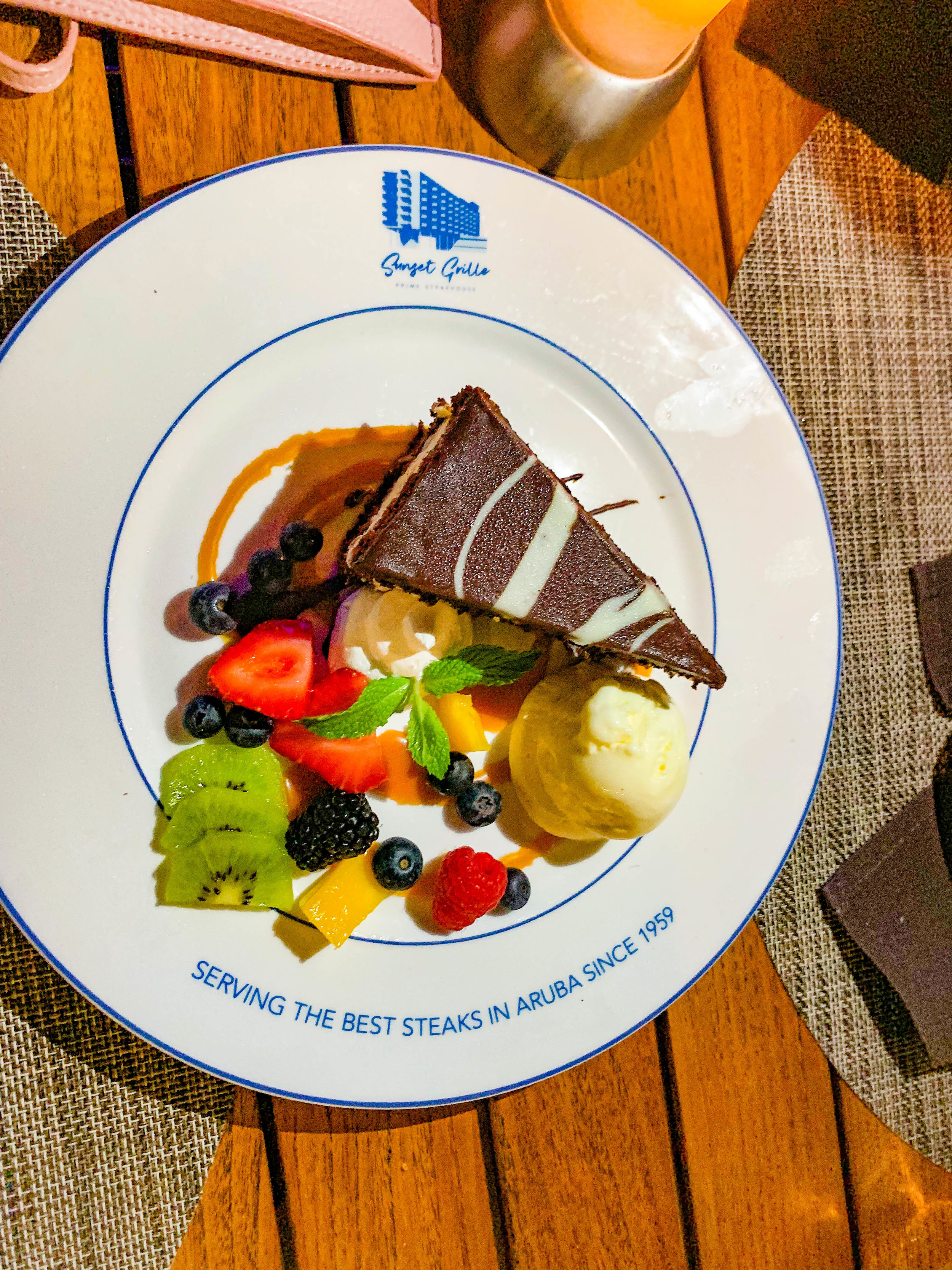 Sunset Grille Hilton Aruba - Dessert