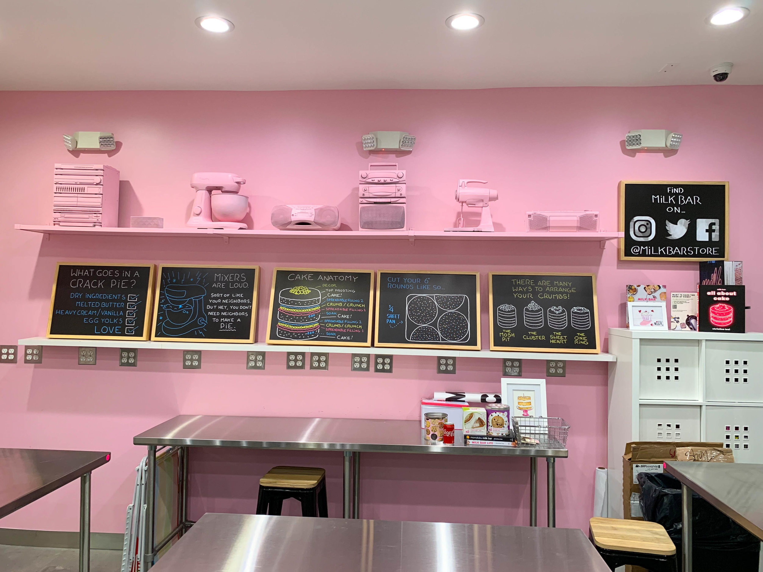 Milk Bar Los Angeles Pink Classroom