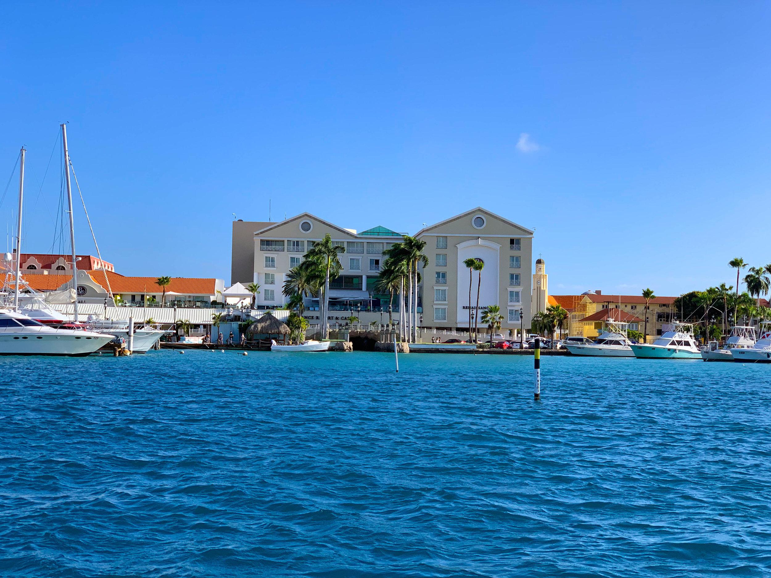 Renaissance Aruba - Flamingos and comfy beds… Perfection!
