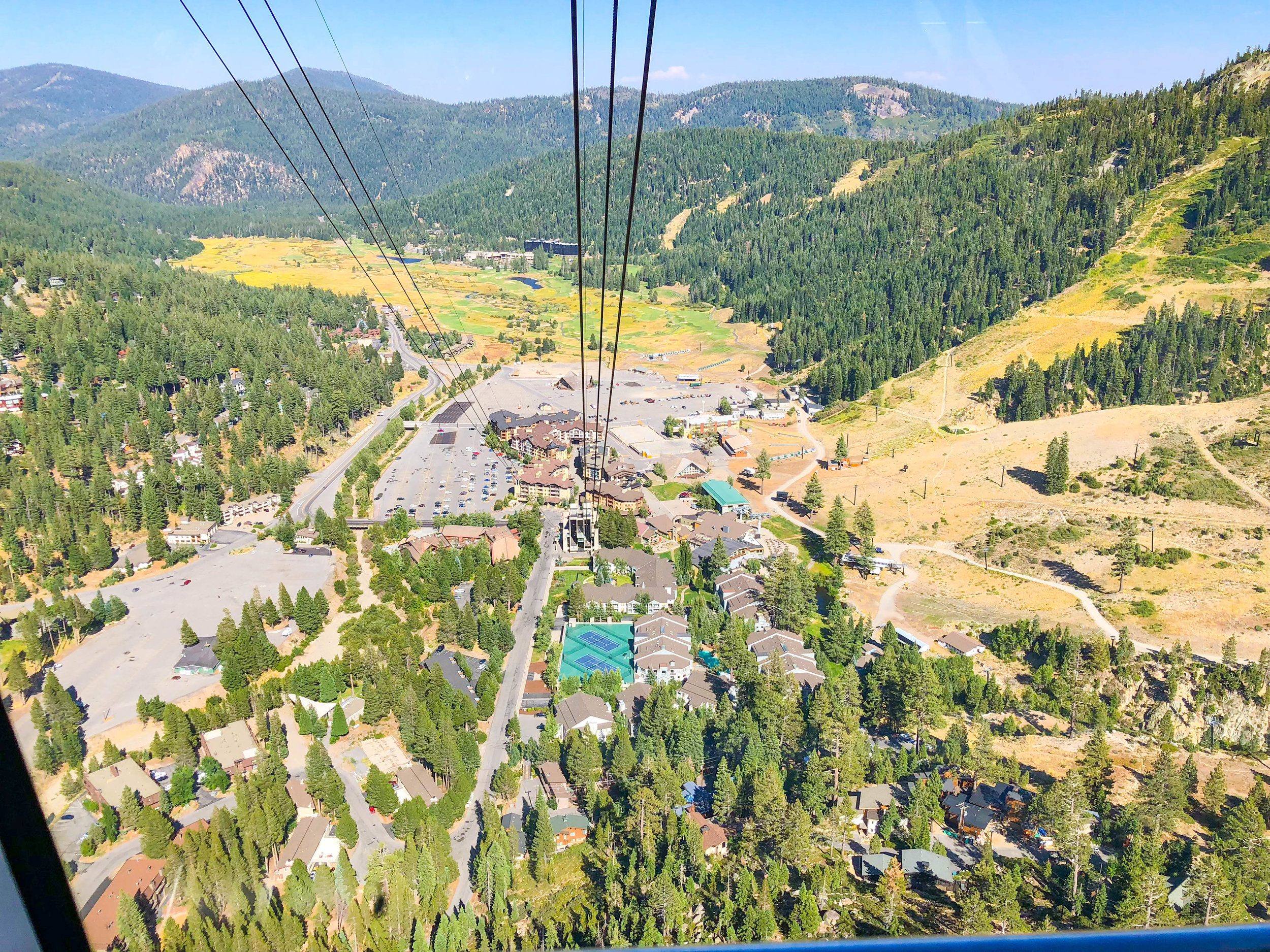 Squaw Valley Aerial Tram to High Camp