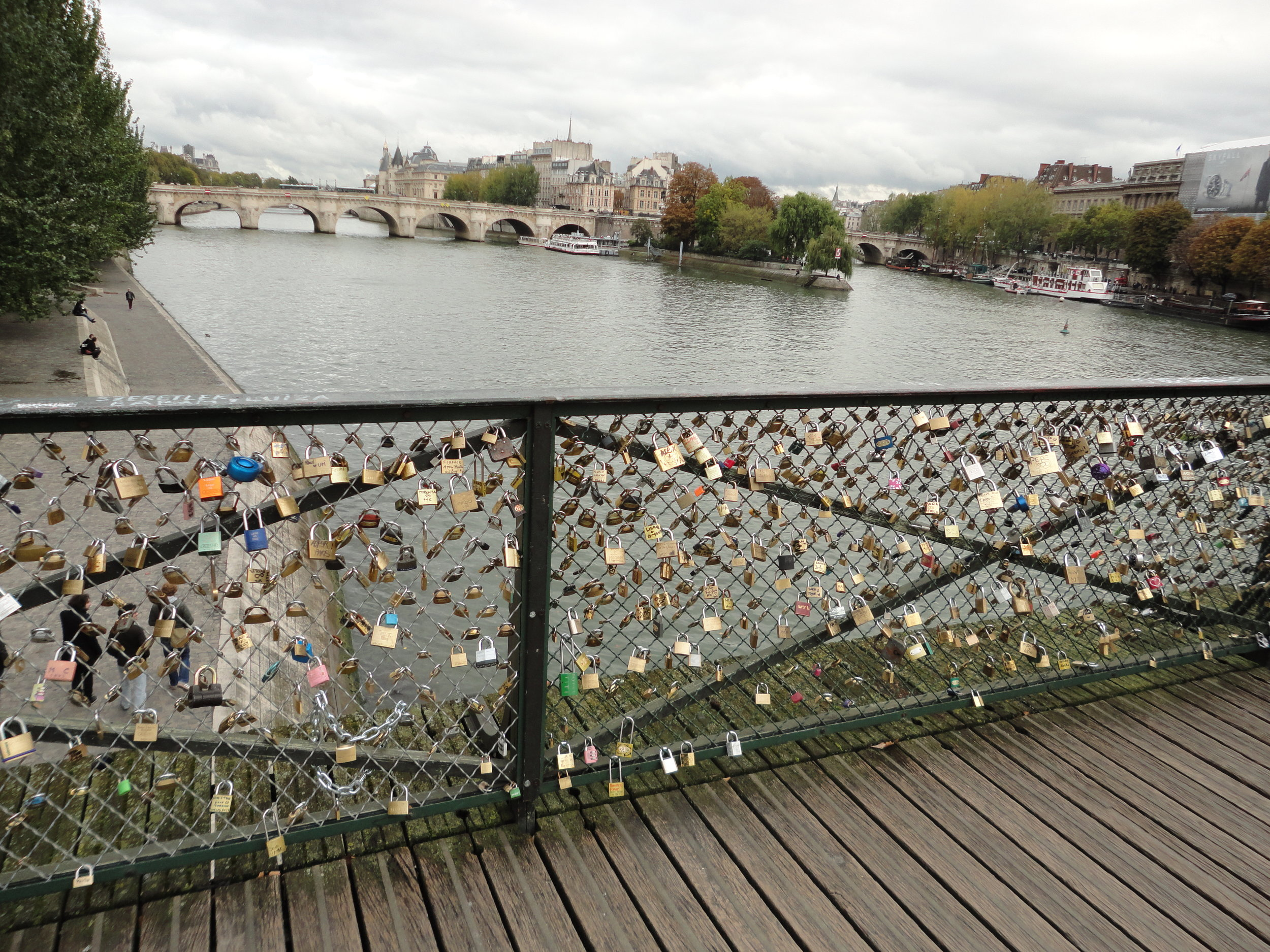 PONT DES ARTS - Love Lock Bridge