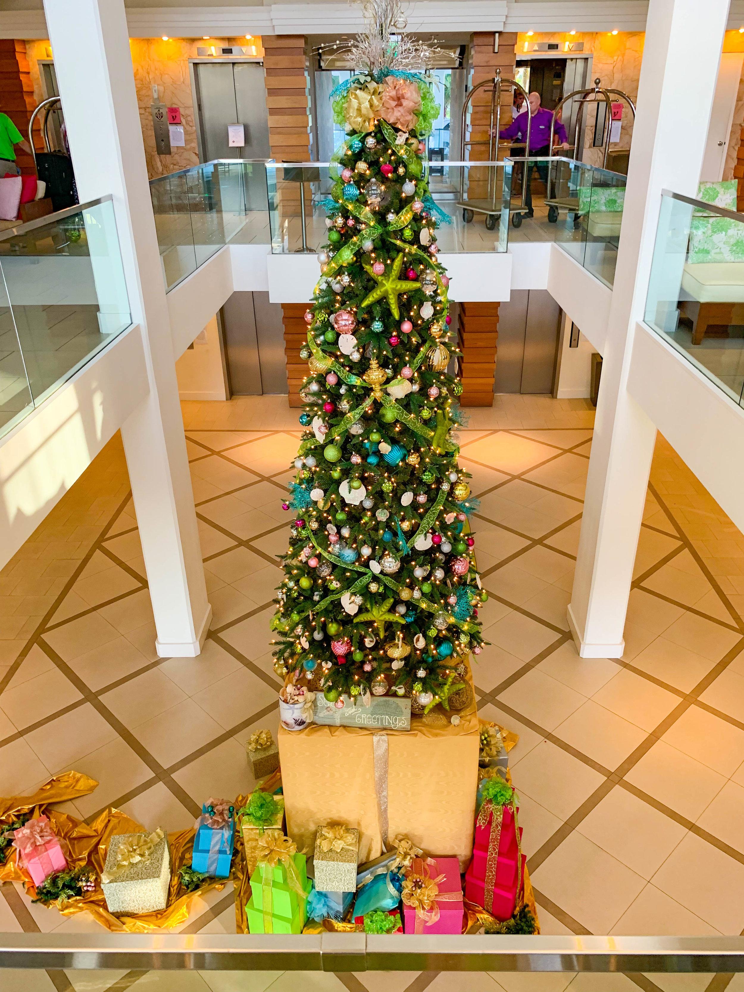 Hyatt Regency Sarasota Lobby Christmas