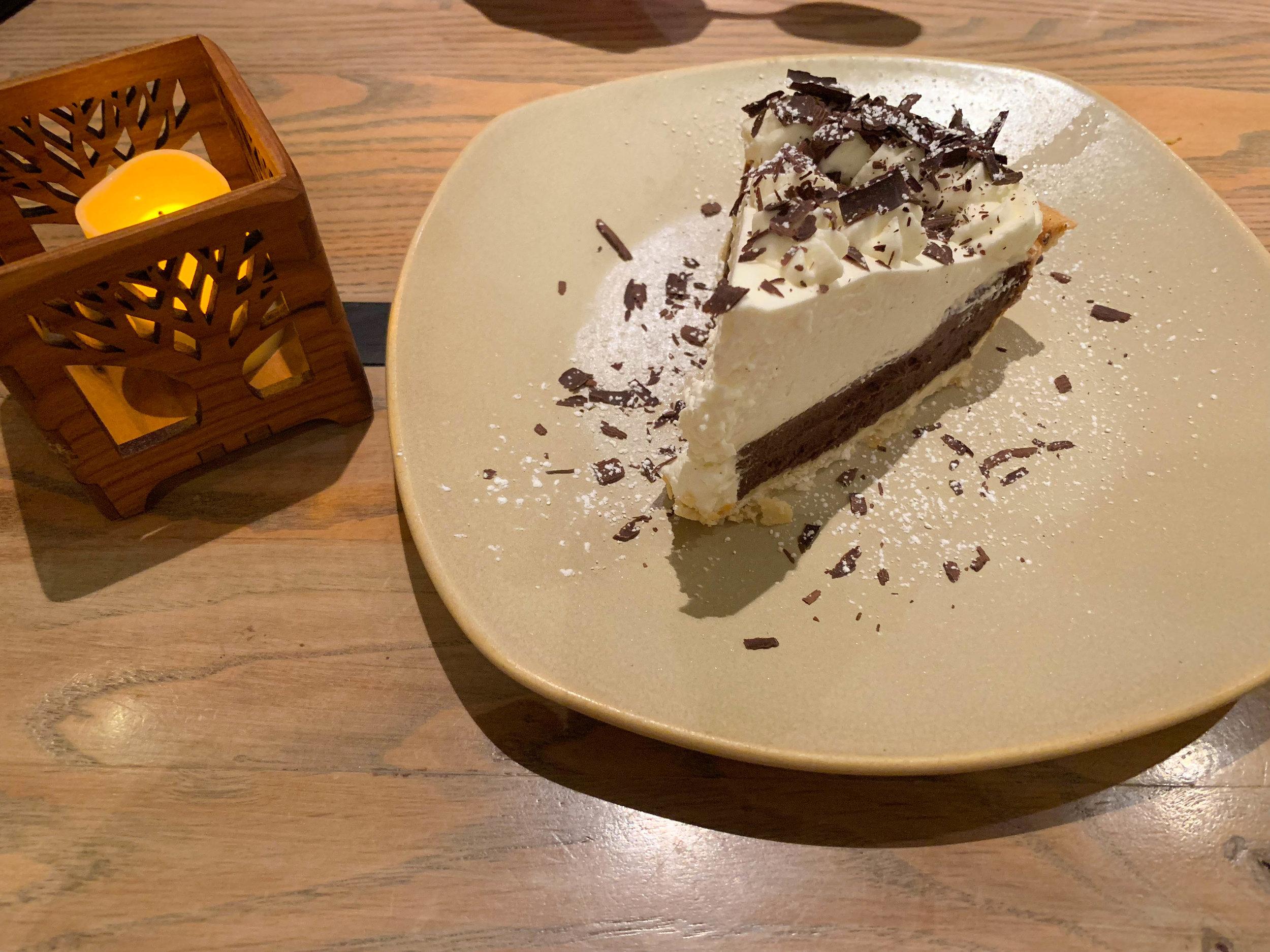 CHocolate Cream Pie at Monkeypod Kitchen