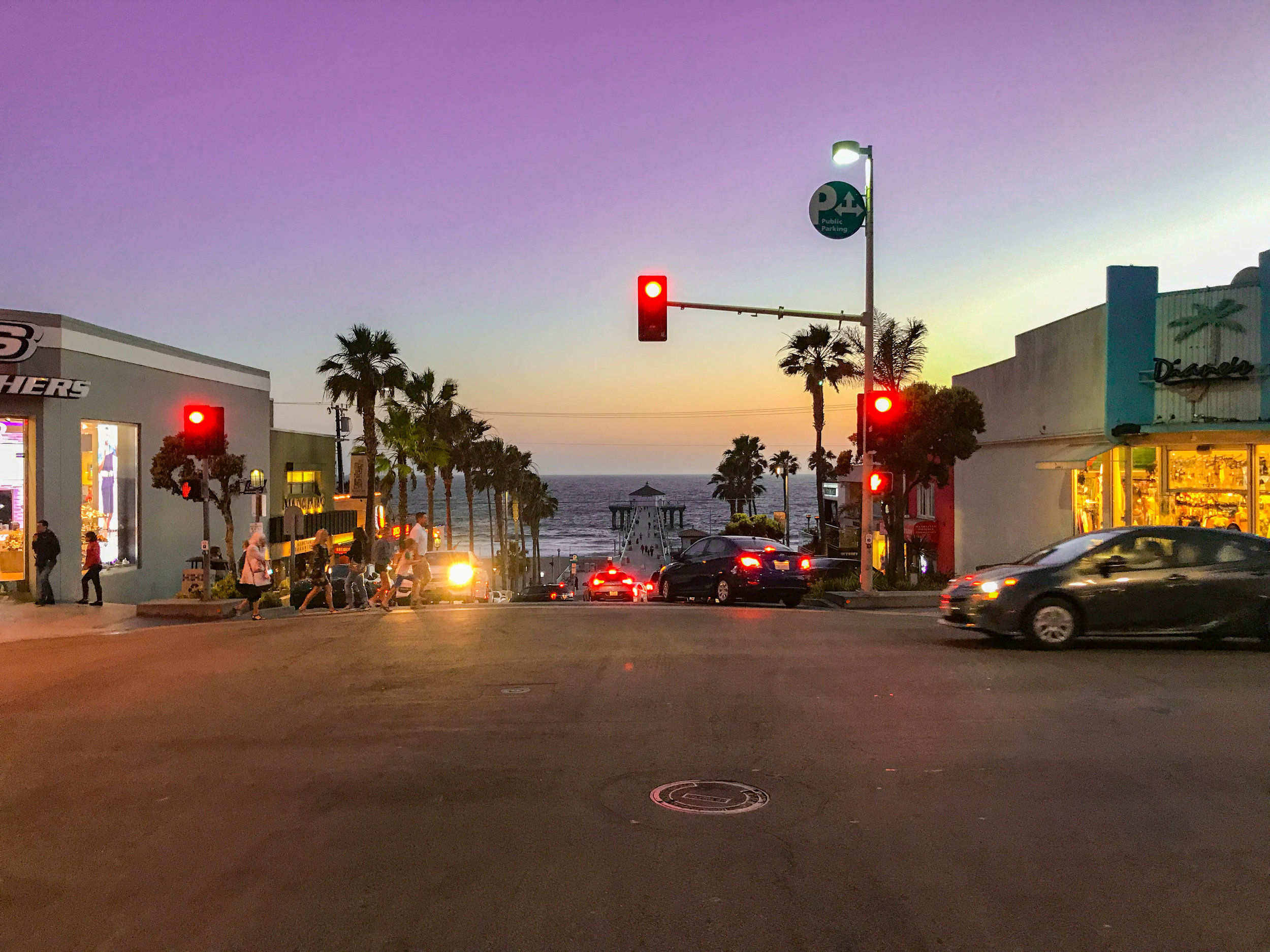 Sunset in Manhattan Beach