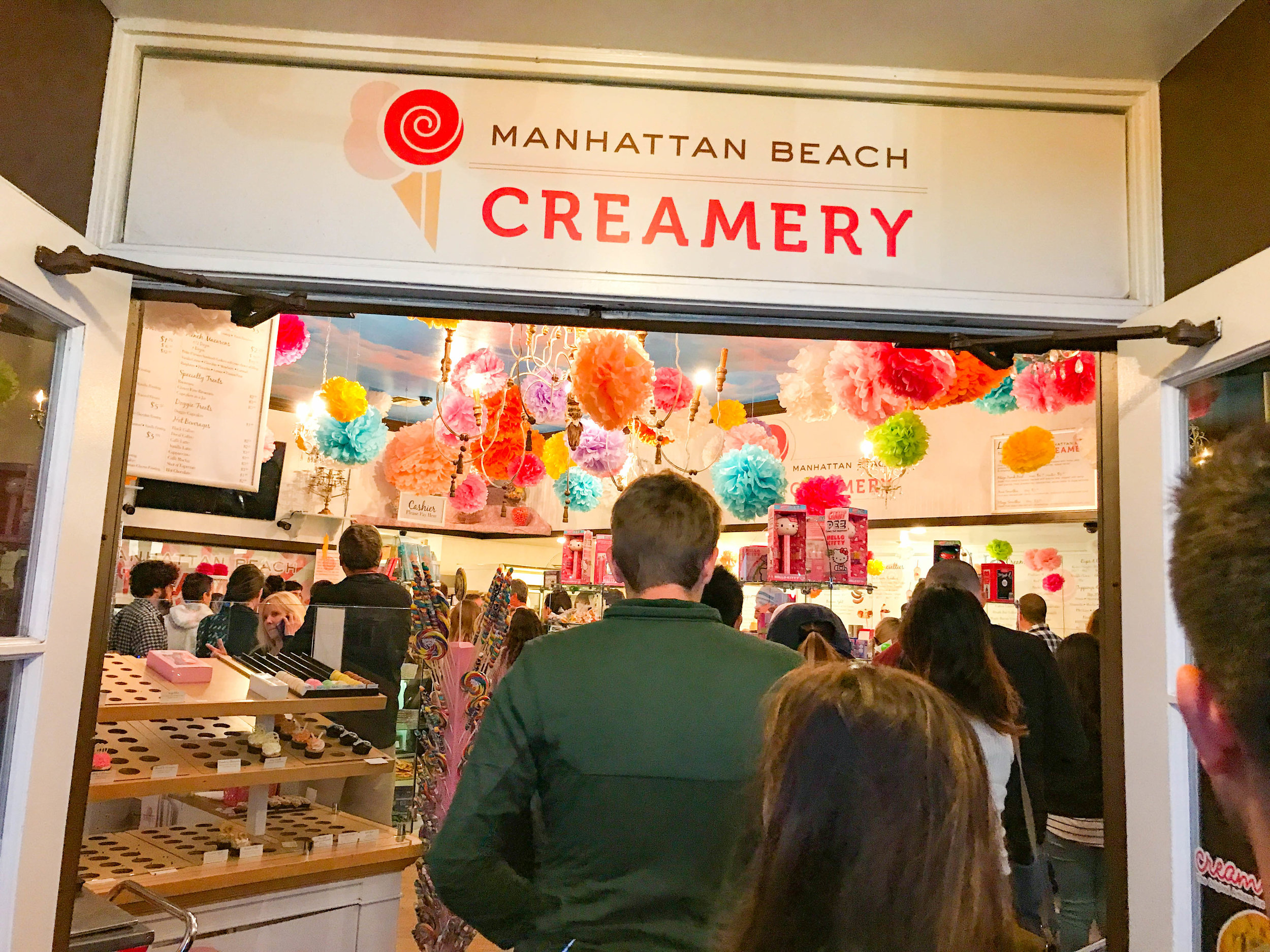 Manhattan Beach Creamery Ice Cream
