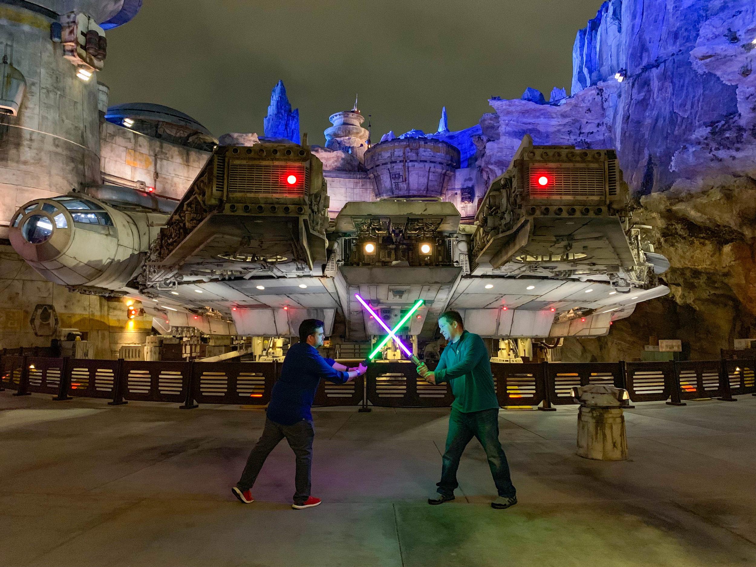 Star Wars Galaxys Edge Disneyland-Light Sabersjpg