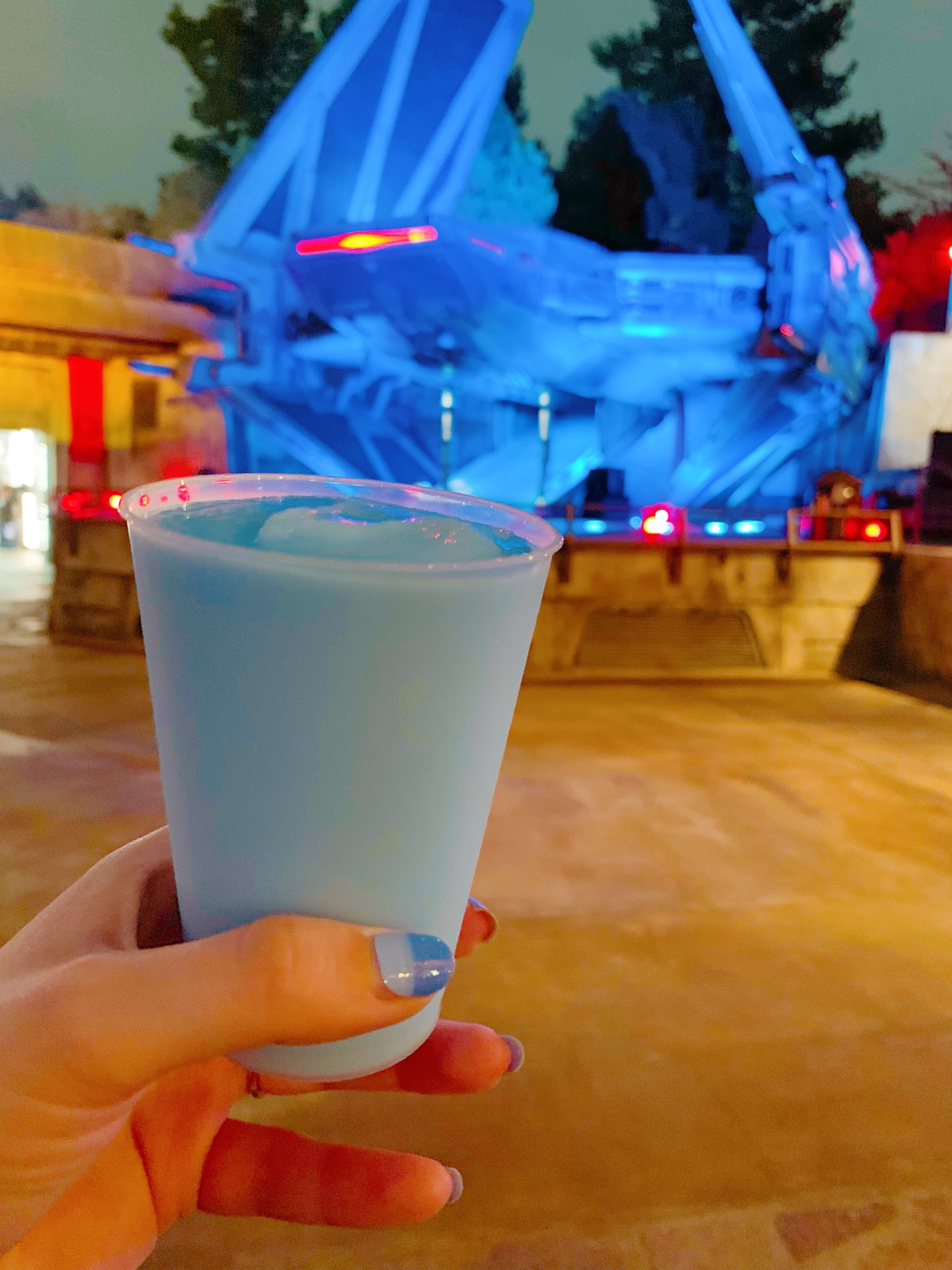 Blue Milk at Galaxy's Edge