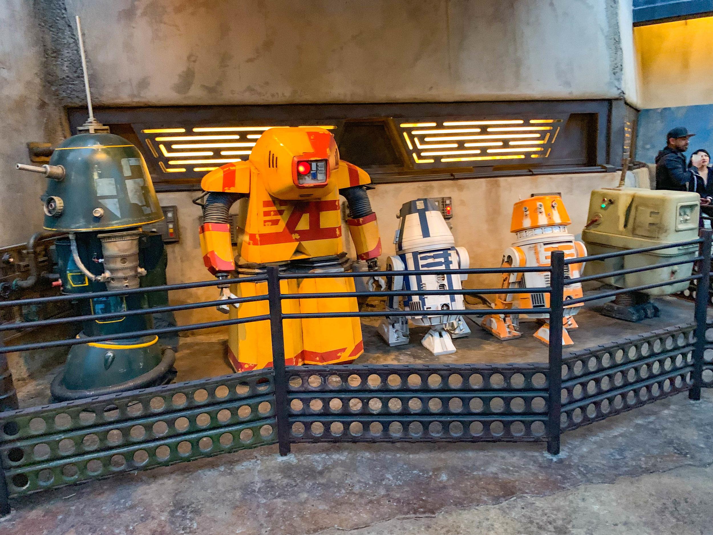 Build a droid!