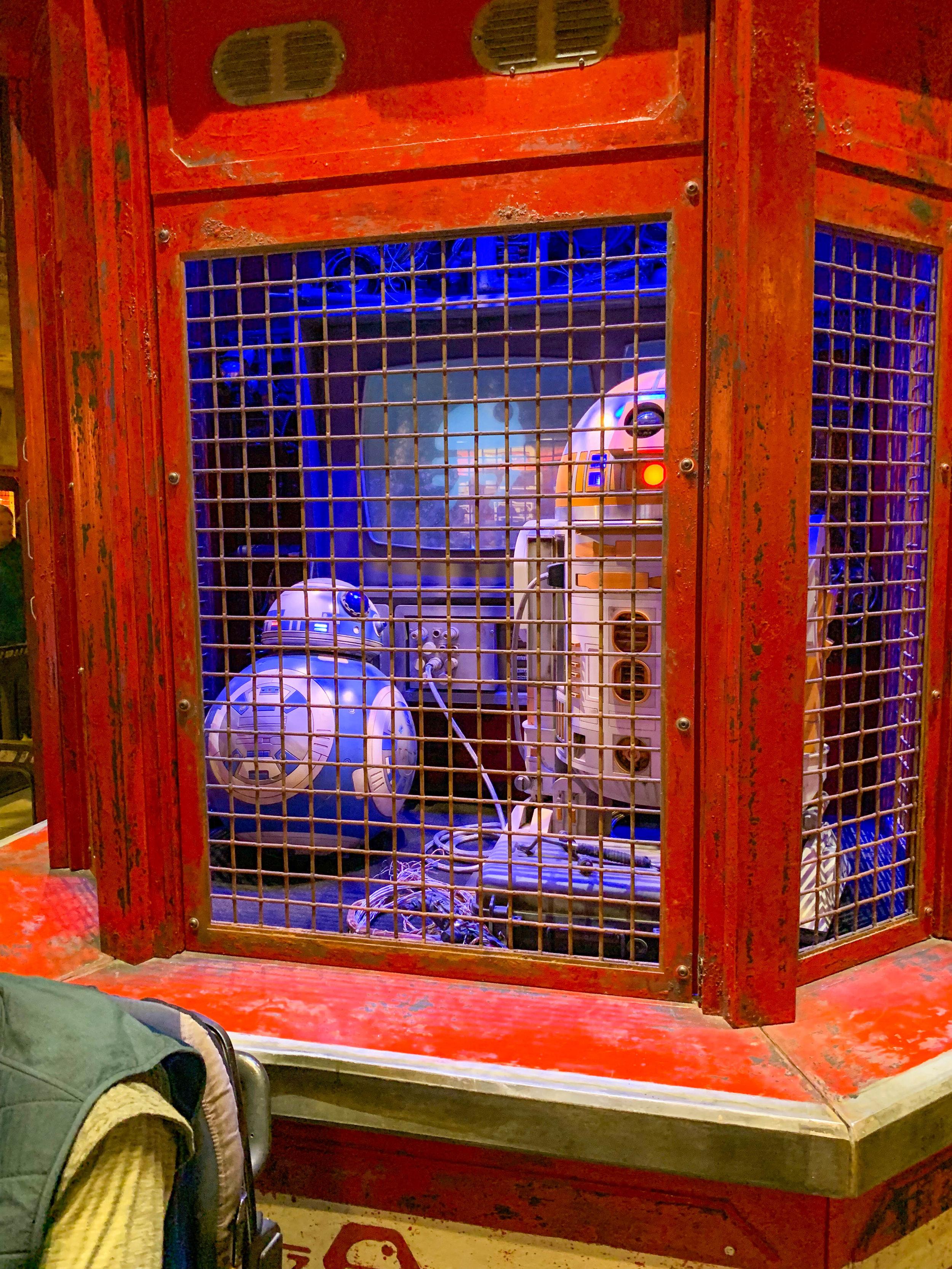 Star Wars Land Galaxy's Edge - Droid Depot