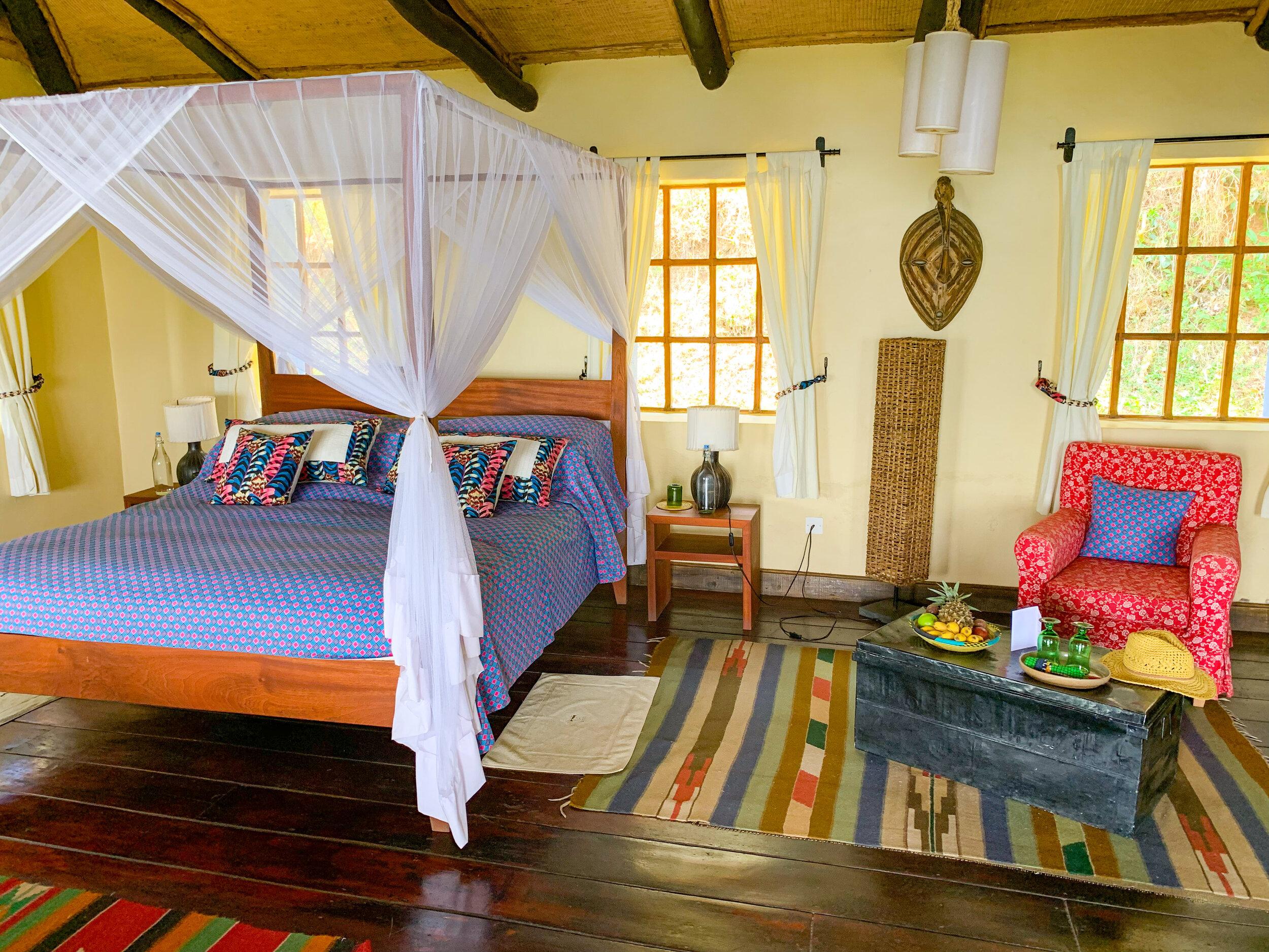 Virunga Lodge - Rwanda, Africa