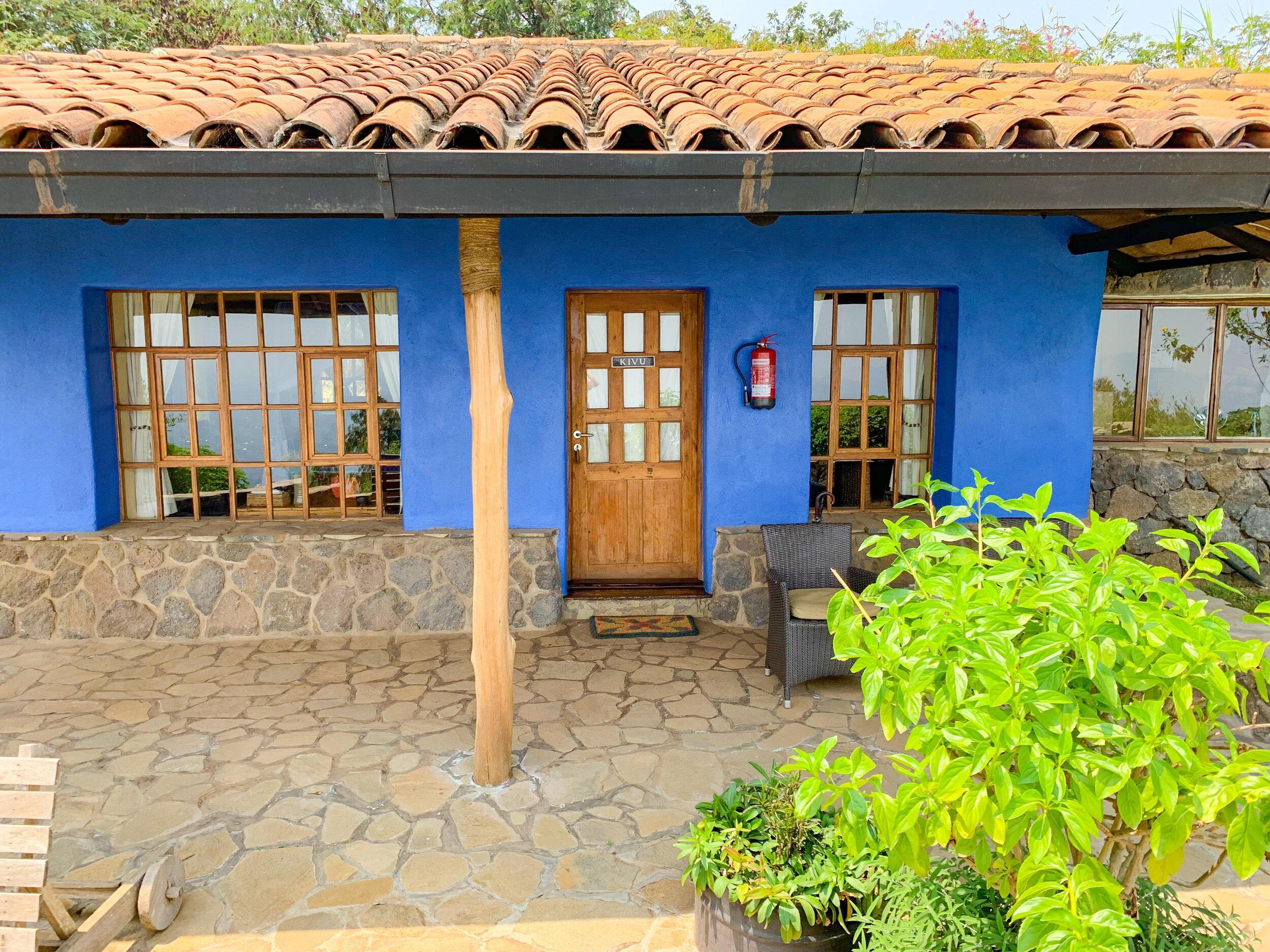 Virunga Lodge - Kivu Banda Room