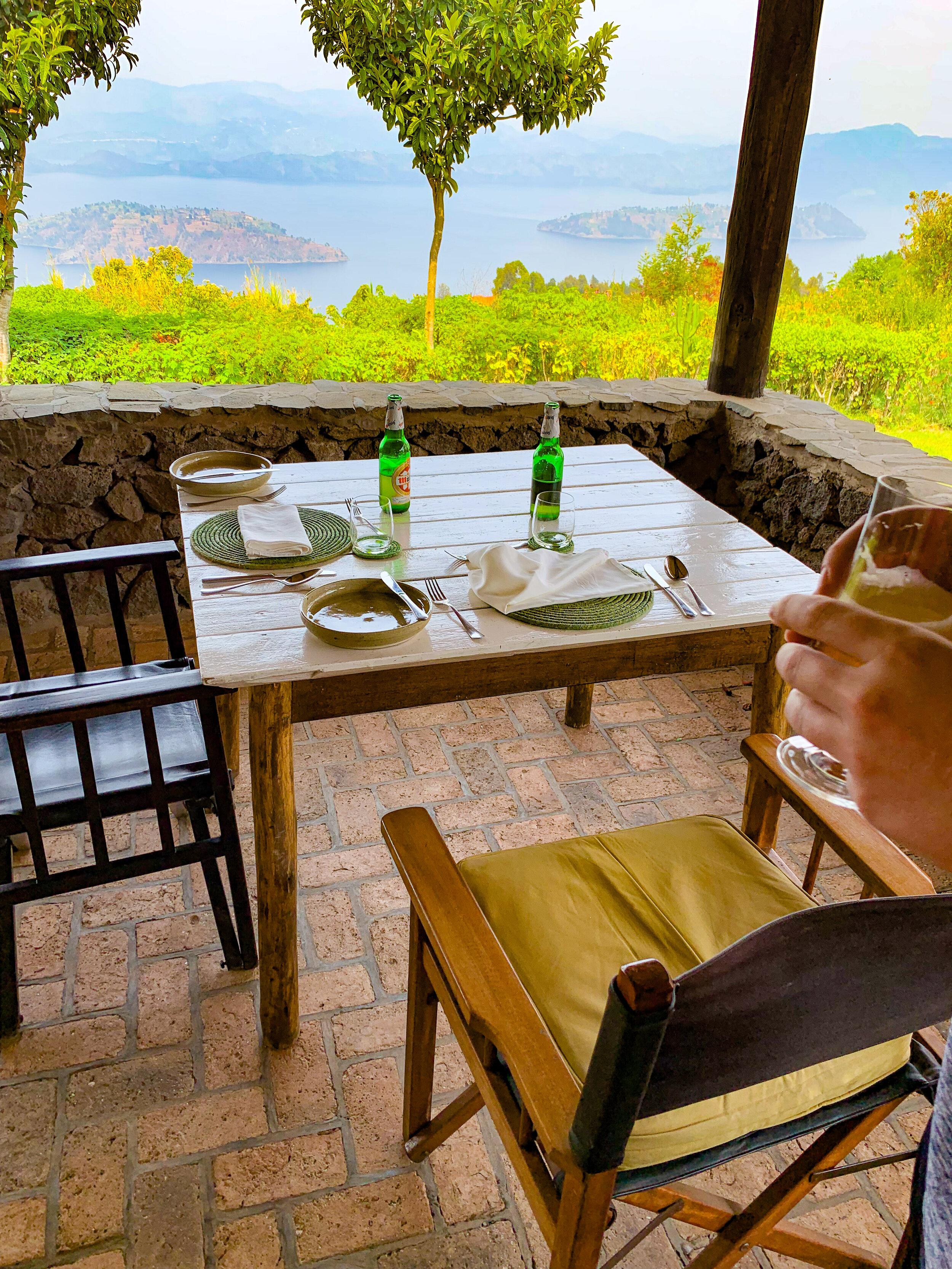 Virunga Lodge - Breakfast