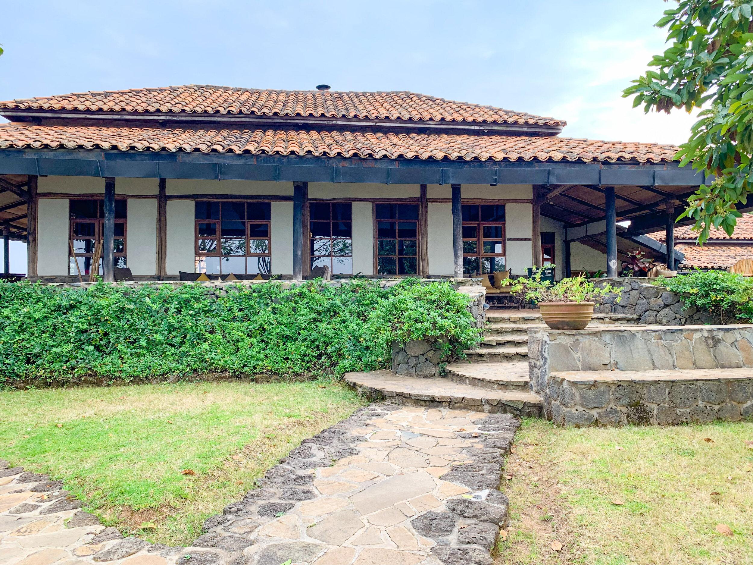 Virunga Lodge - main lodge