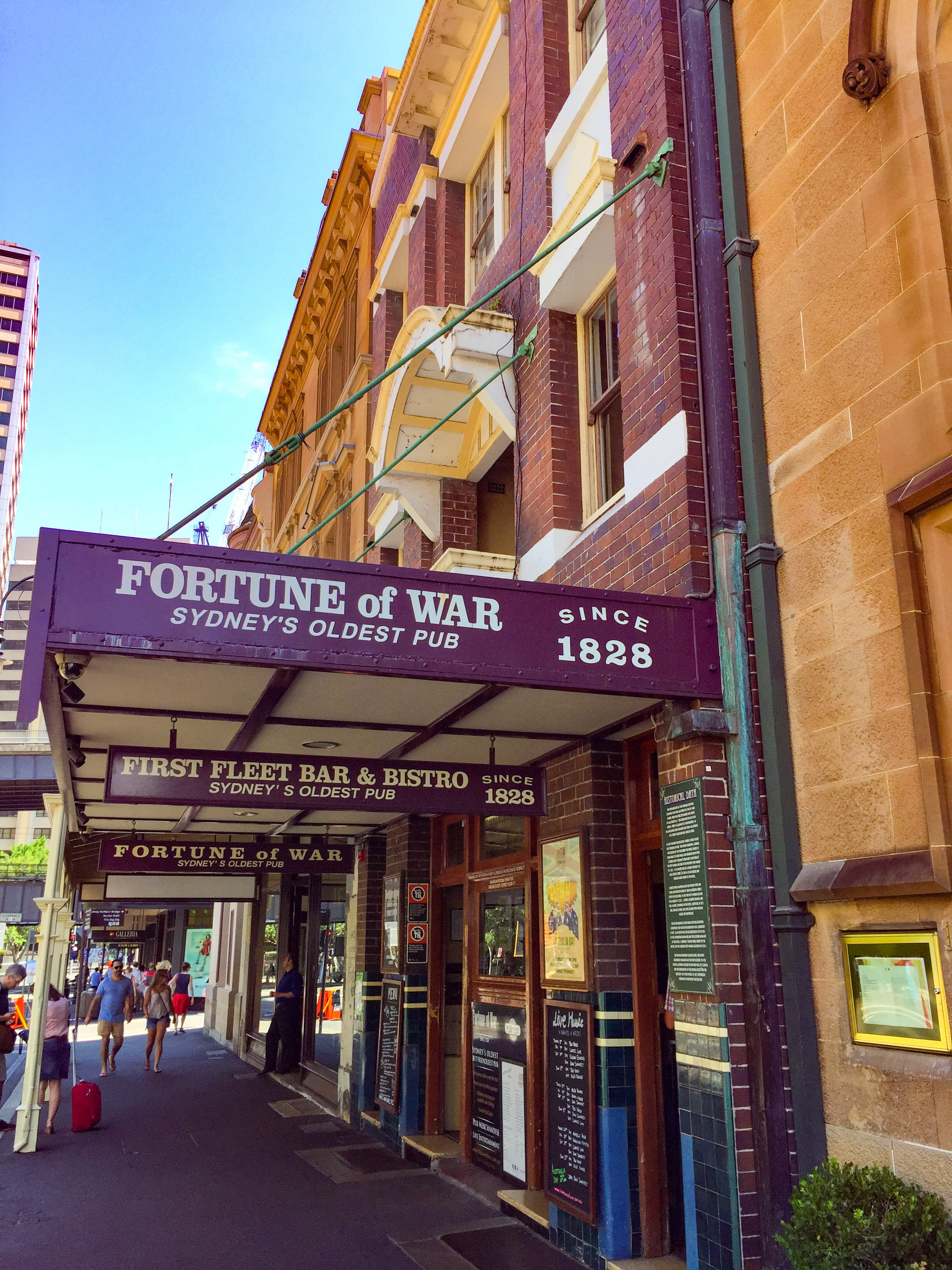Fortune of War - Sydney's Oldest Pub