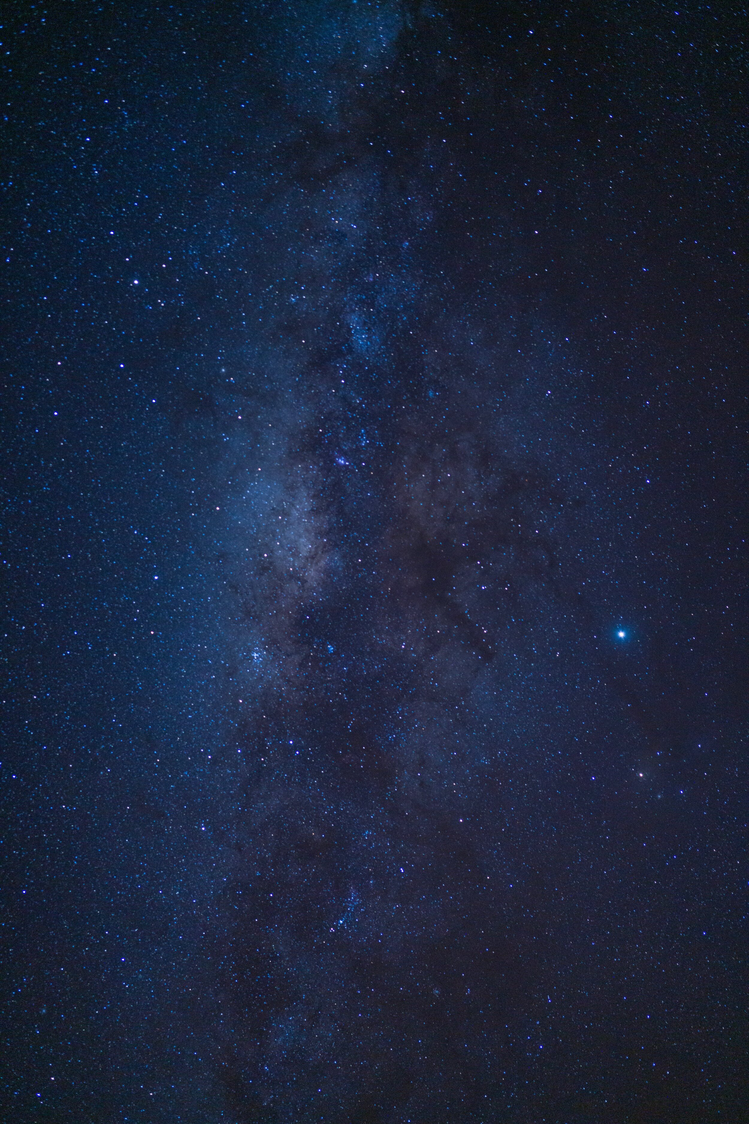 Milky Way seen from the balcony of our room