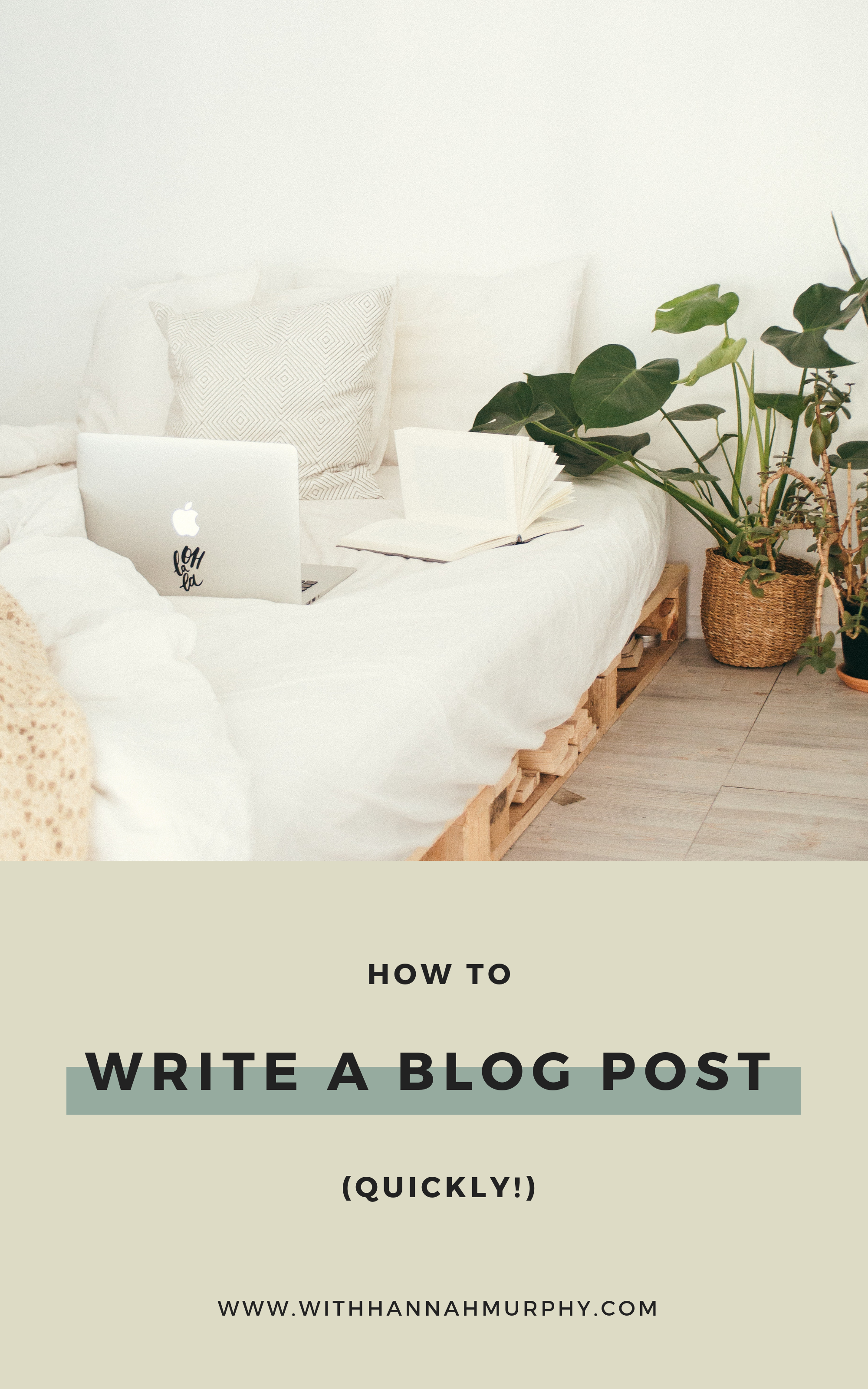 Do you find blog writing time consuming? In this blog post, I share with you how I write a months worth of blog posts within a couple of hours!