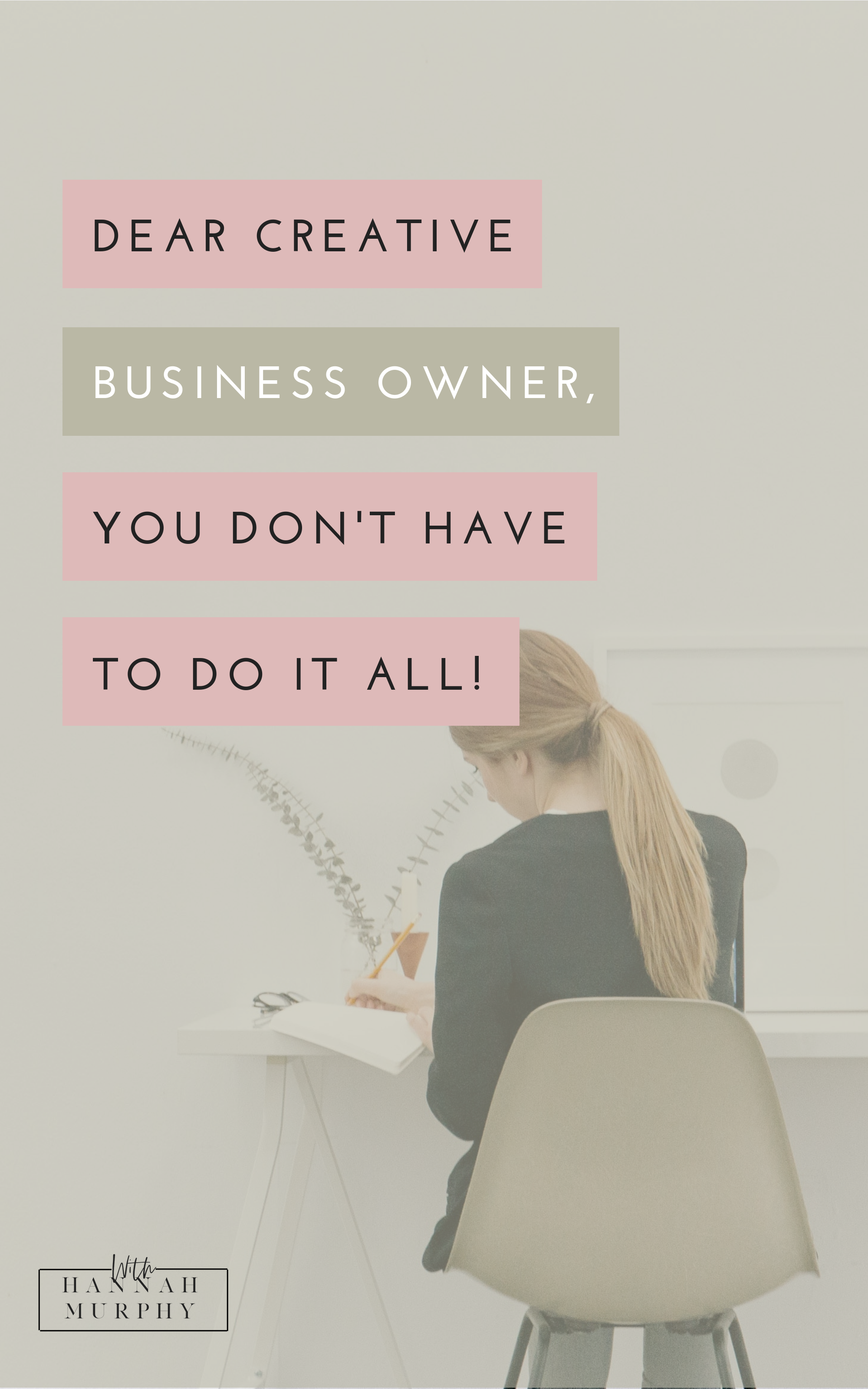 How to reduce overwhelm as a business owner