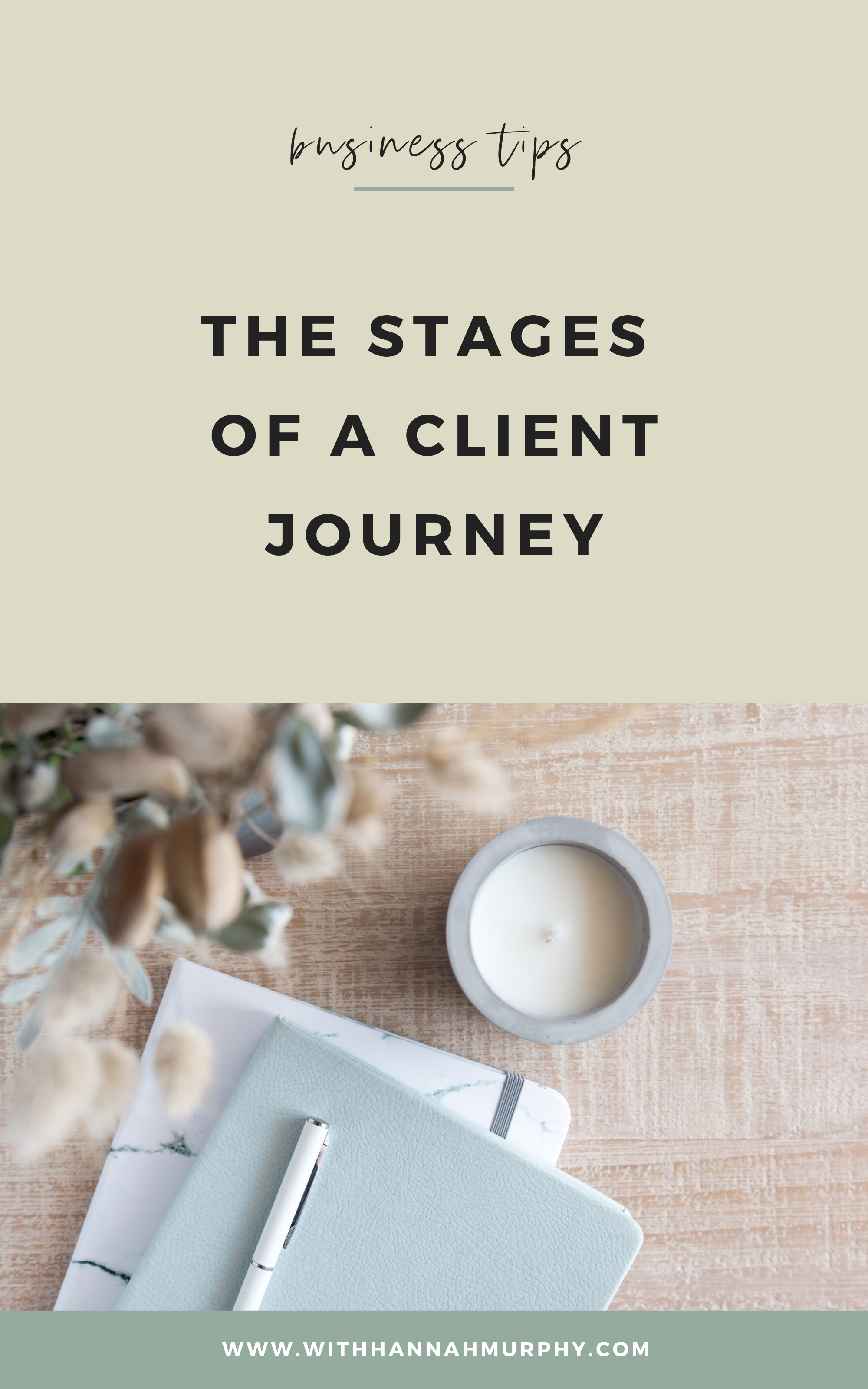 Want to up level your client journey and create a list of raving fans? This blog dives deep into each stage of the client journey and the resources I use for each step.