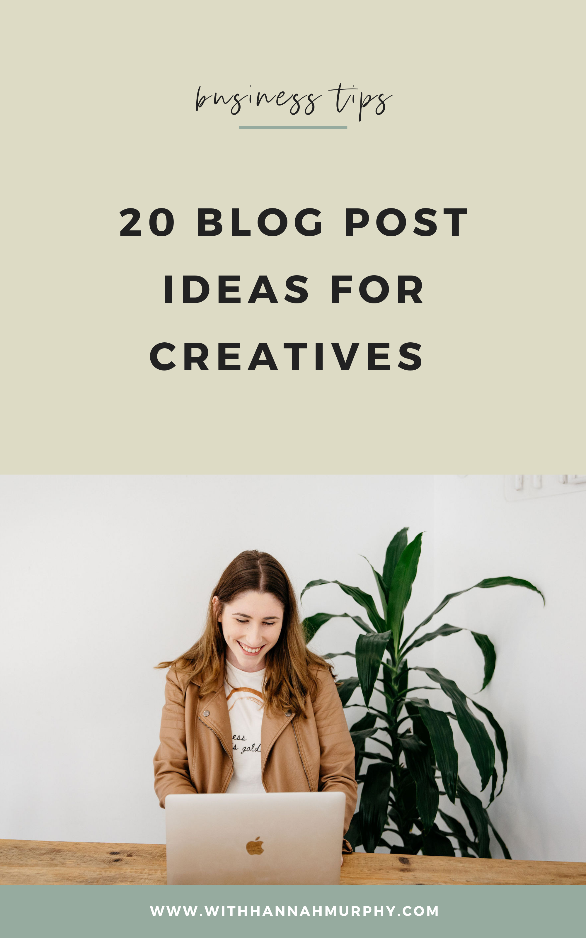 Struggling to think of what to write for your next blog post? In this blog post I provide 40 blog post ideas for creative business owners