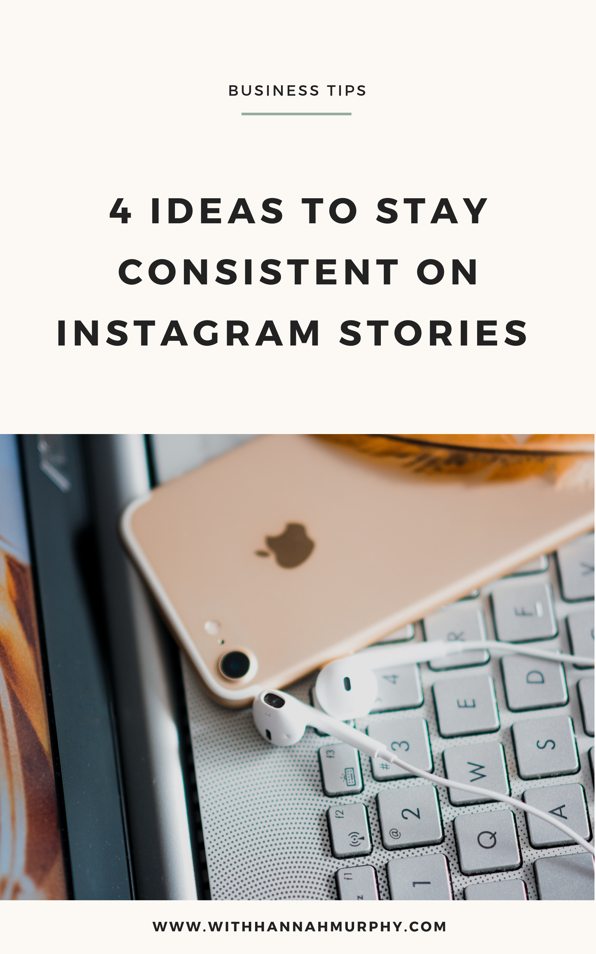 Struggling to stay consistent on instagram stories? These 4 tips will help you show up consistency to your audience so they can know, like and trust you, leading to an increase in connection and sales