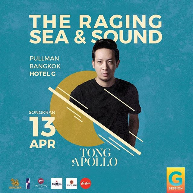 @rockydjay will be playing along side with @tong_apollo for your best entertainment on a wild wild wet day of Songkran at @pullmanbangkokhotelg SAT. 13 APR | 3PM to 9:30PM • • • • • #waterfestival #nightlife #hotelparty #partytime #drinks #rave #dj #edm #festival #tomorrowland #pullmanbangkokhotelg #housemusic #techno #dubstep #water #ocean #thainewyear #watergun #waterfight #reflection #sand #boat #wave #musicfestival #concert #livemusic #festivalseason #edmlife #musicphotography #lifestylehotel