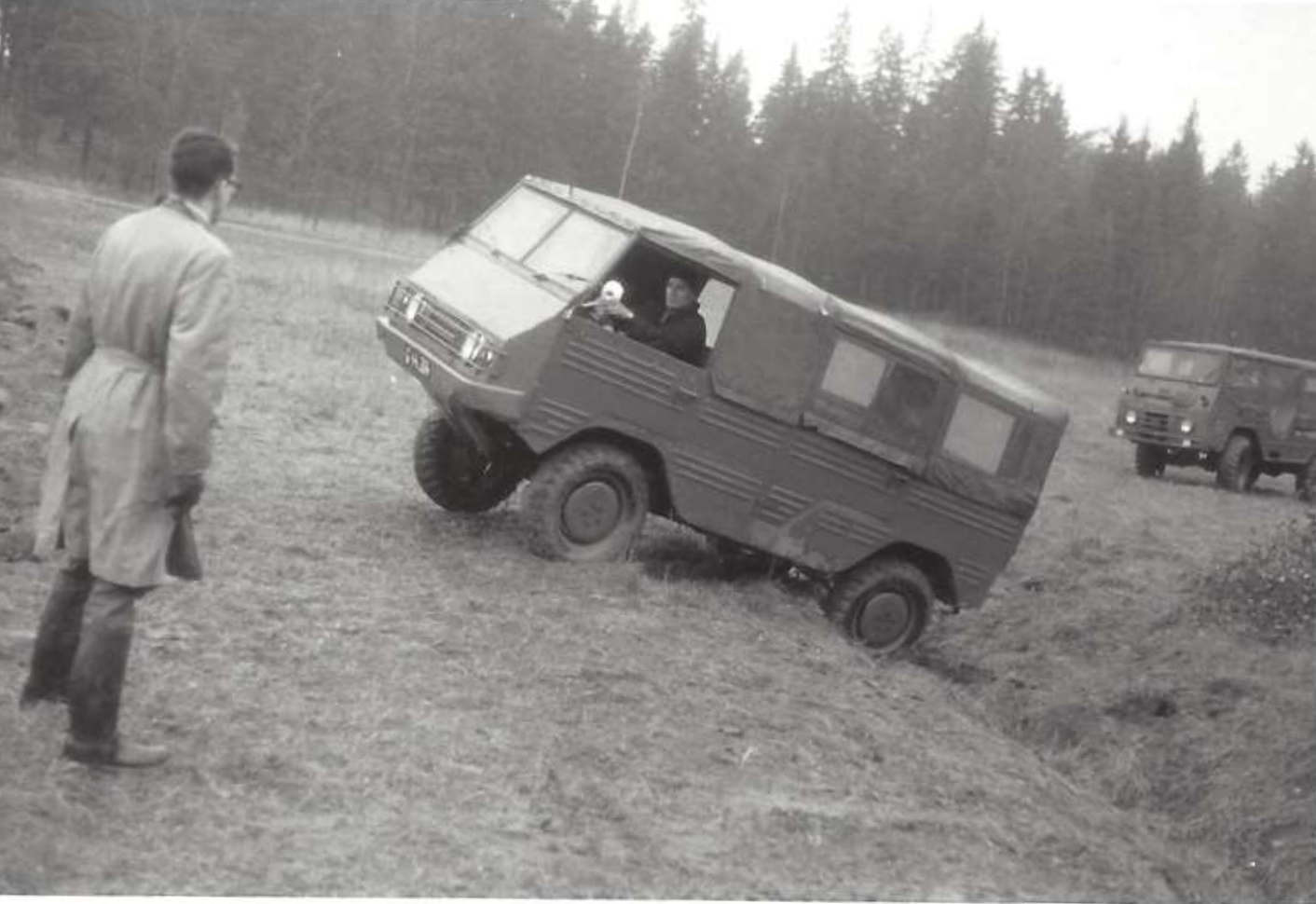 Pinzgauer vs Lapplander (1966)