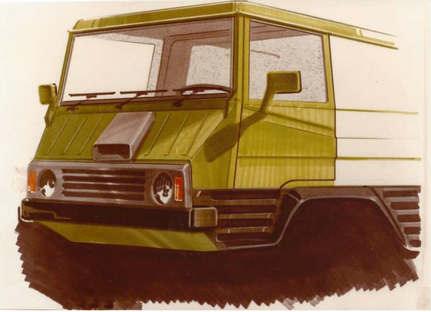 Pinzgauer design study (1980)