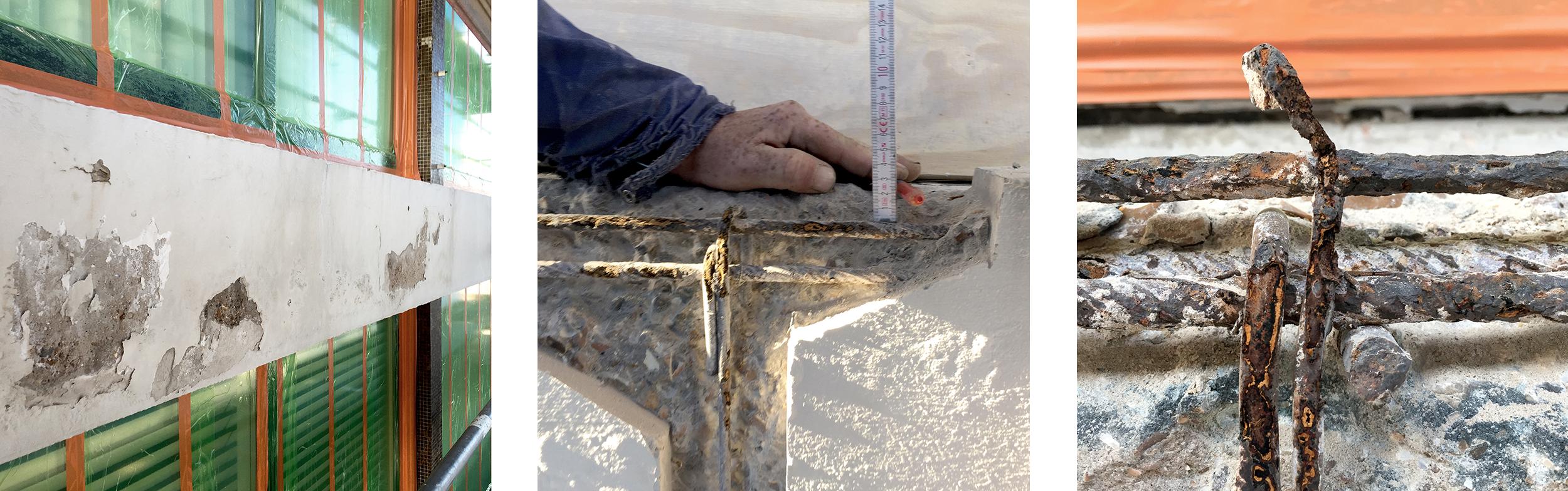 Concrete damages