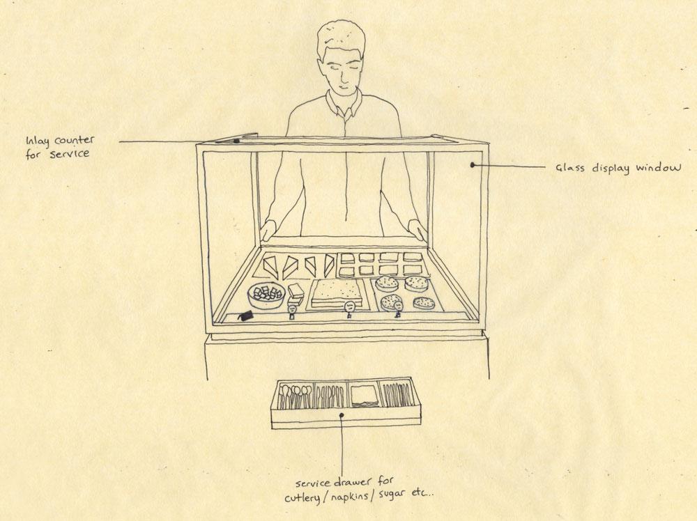 Concierge stations concept visualisation.