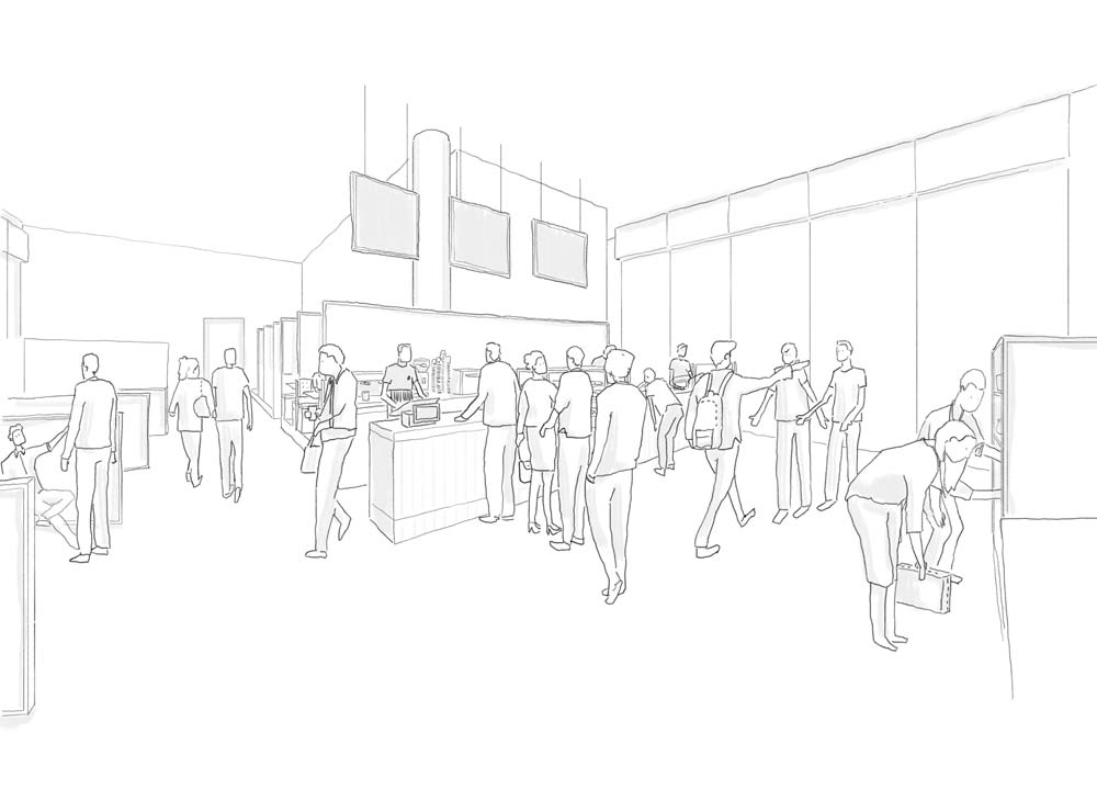 Counter area visualisation.