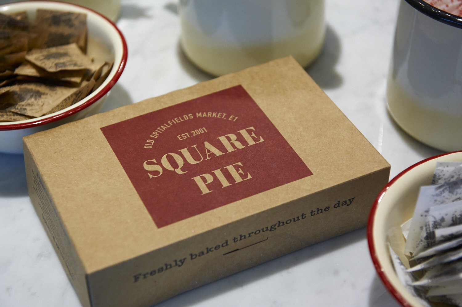 Square Pie featured in Design Week.