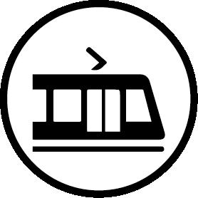 Letbanen kører lige til døren
