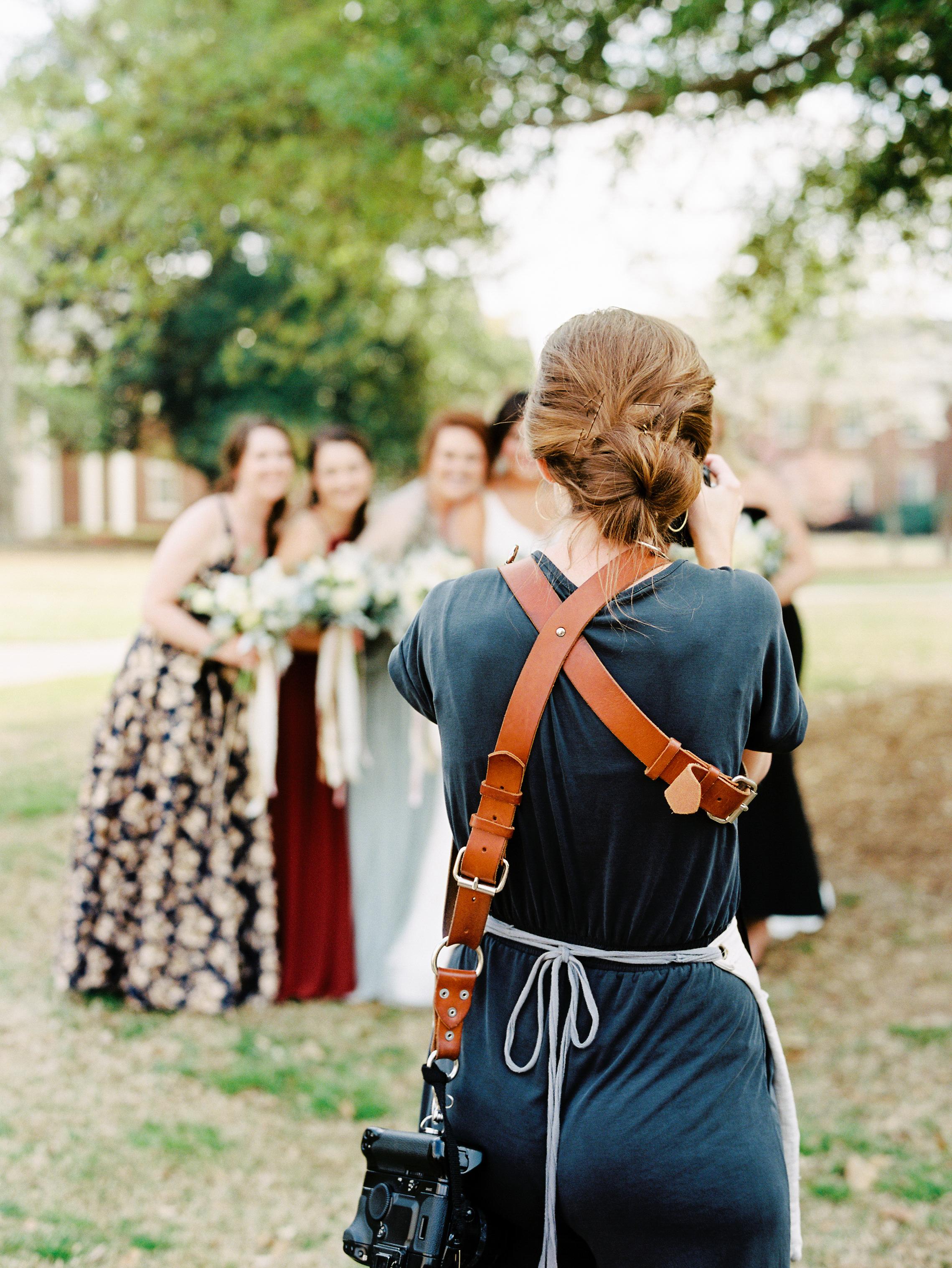 Nancy Ray Shooting Ashley and Chris Wedding