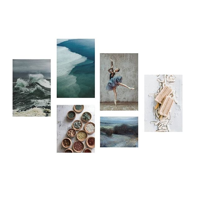 This mood board is coming to LIFE today in a custom website build-out!!